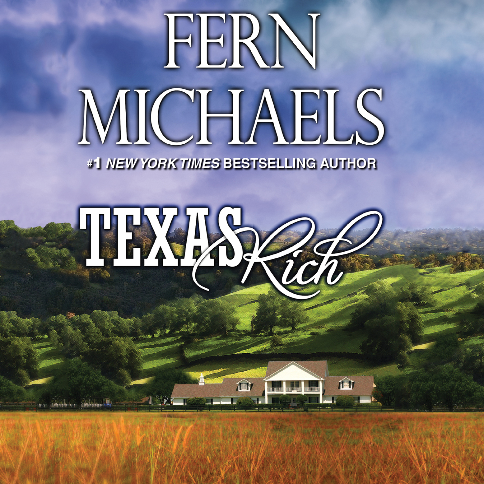 Printable Texas Rich Audiobook Cover Art