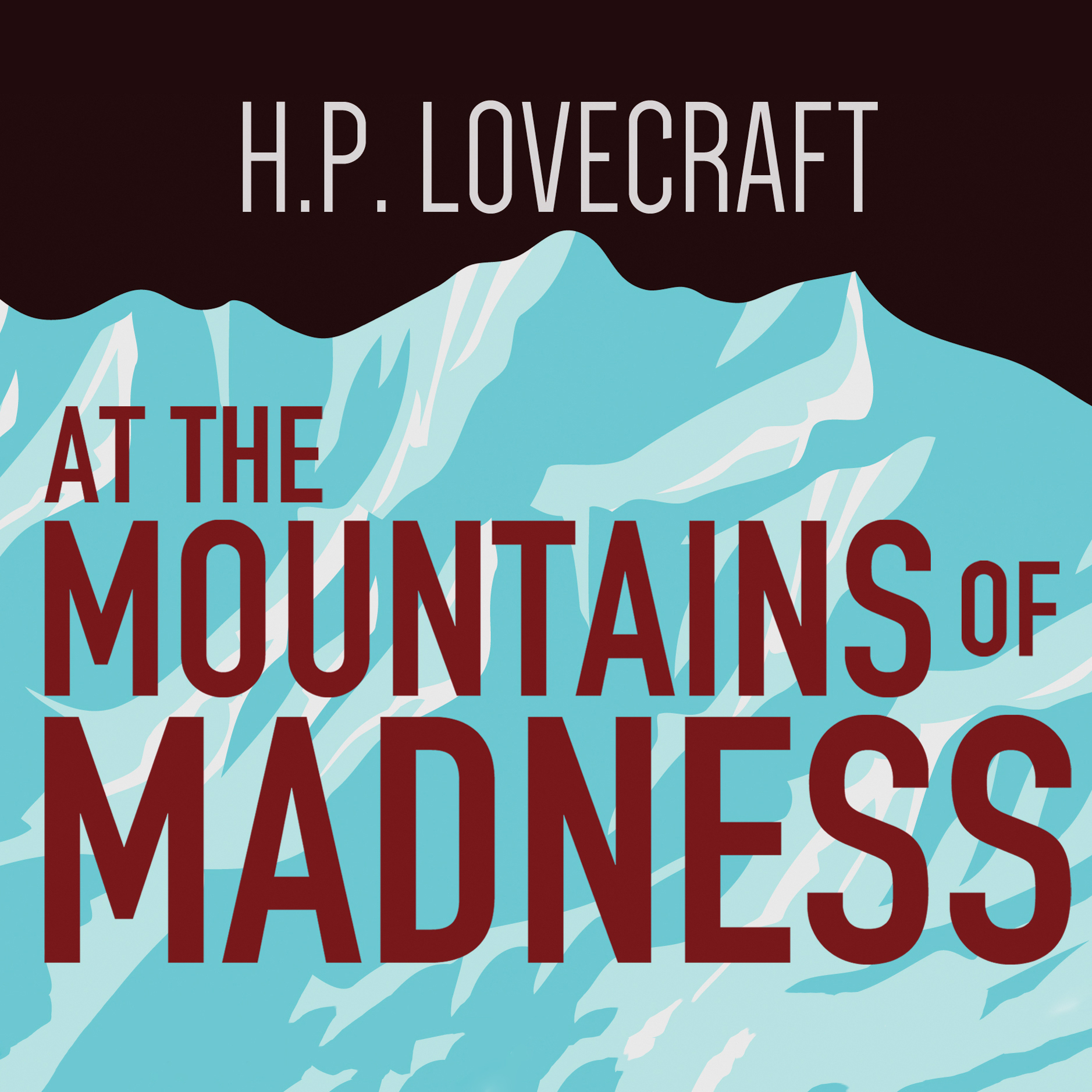 Printable At the Mountains of Madness Audiobook Cover Art