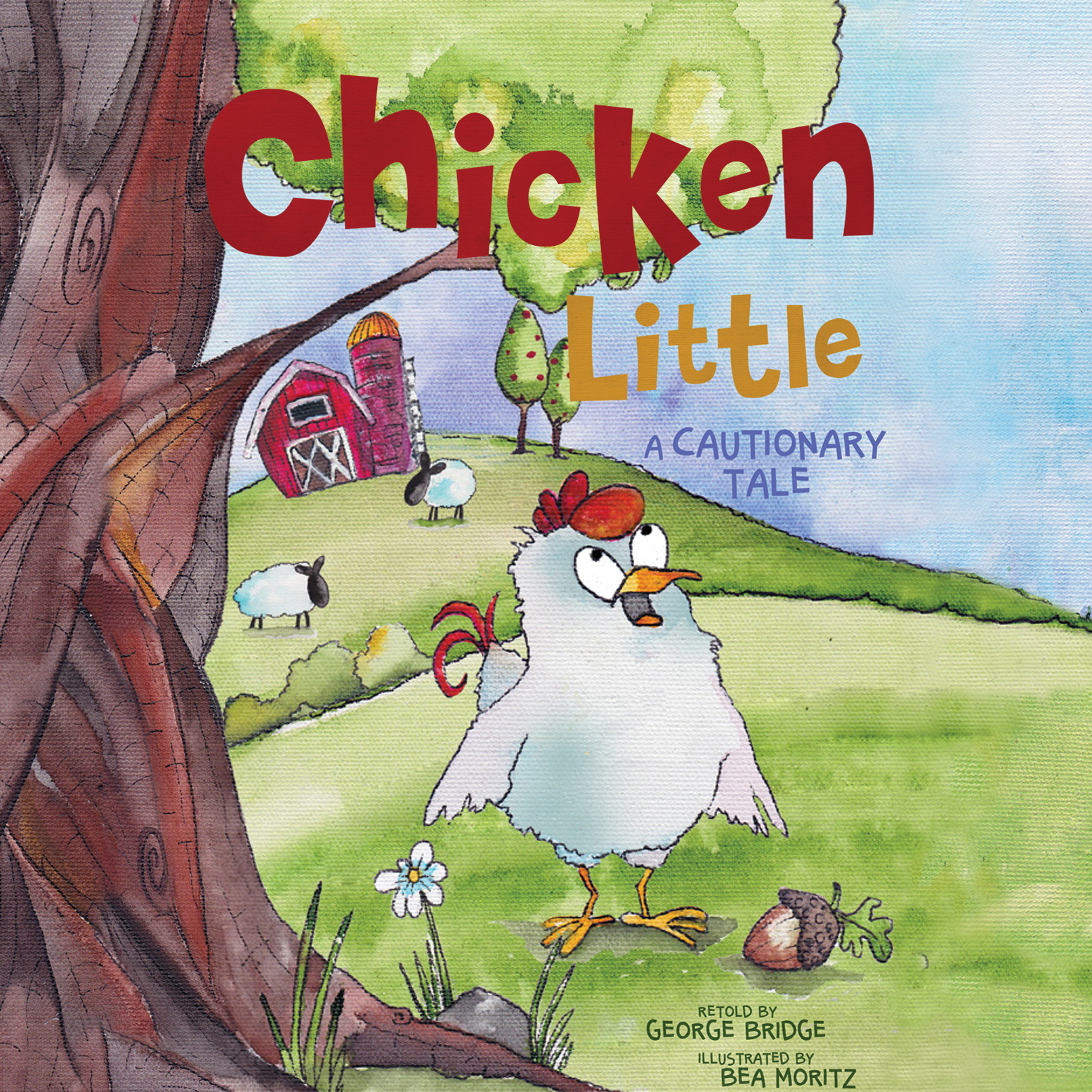 Printable Chicken Little: A Cautionary Tale Audiobook Cover Art