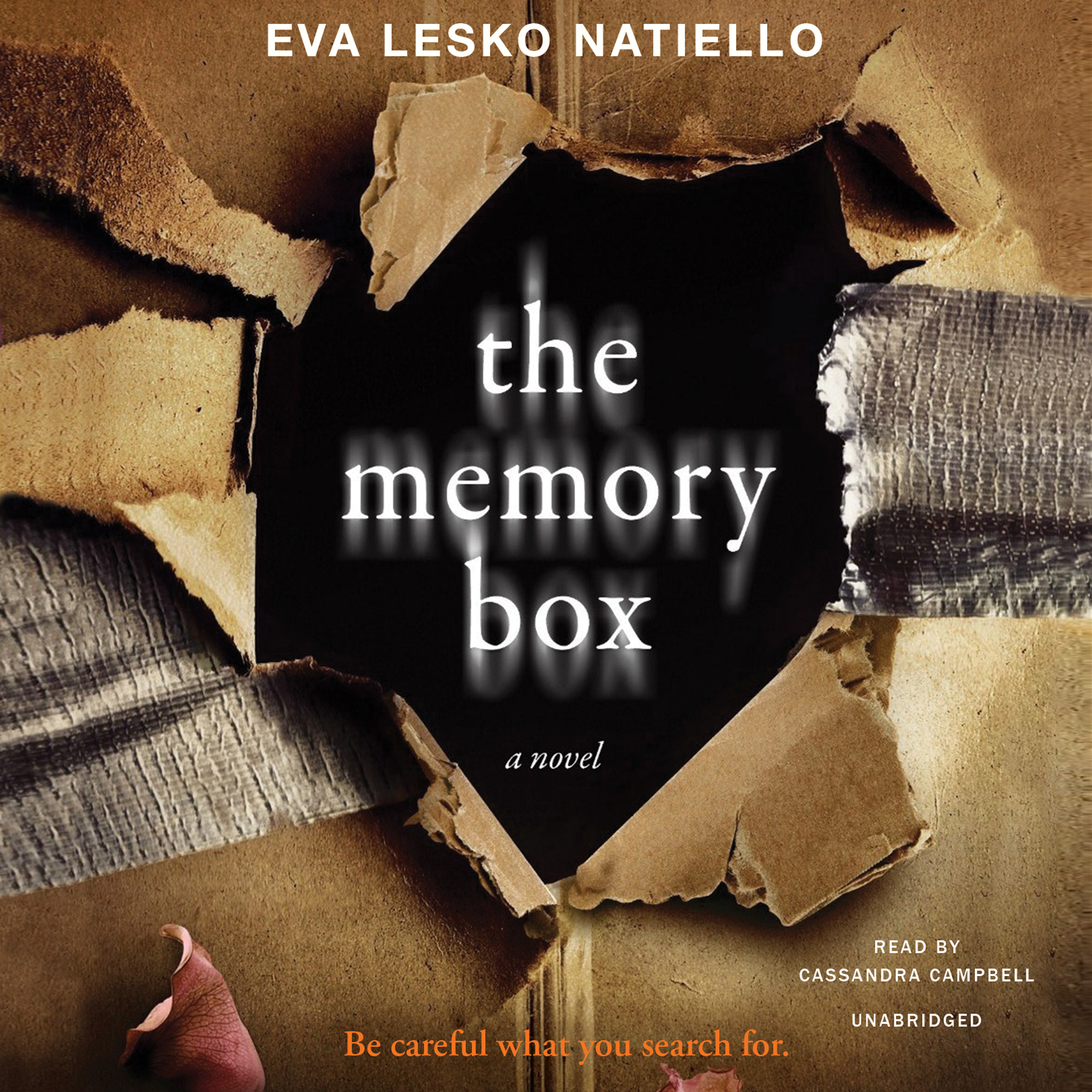 Printable The Memory Box Audiobook Cover Art