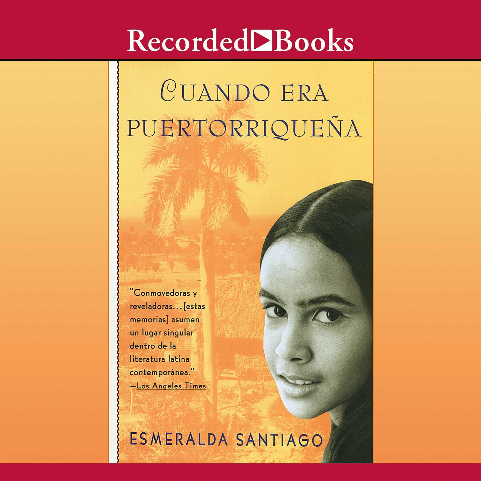 Printable Cuando era puertorriqueña Audiobook Cover Art