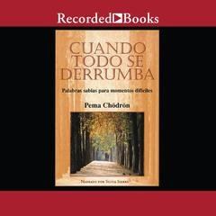 Cuando todo se derrumba: Palabras sabias para momentos dificiles Audiobook, by Pema Chödrön