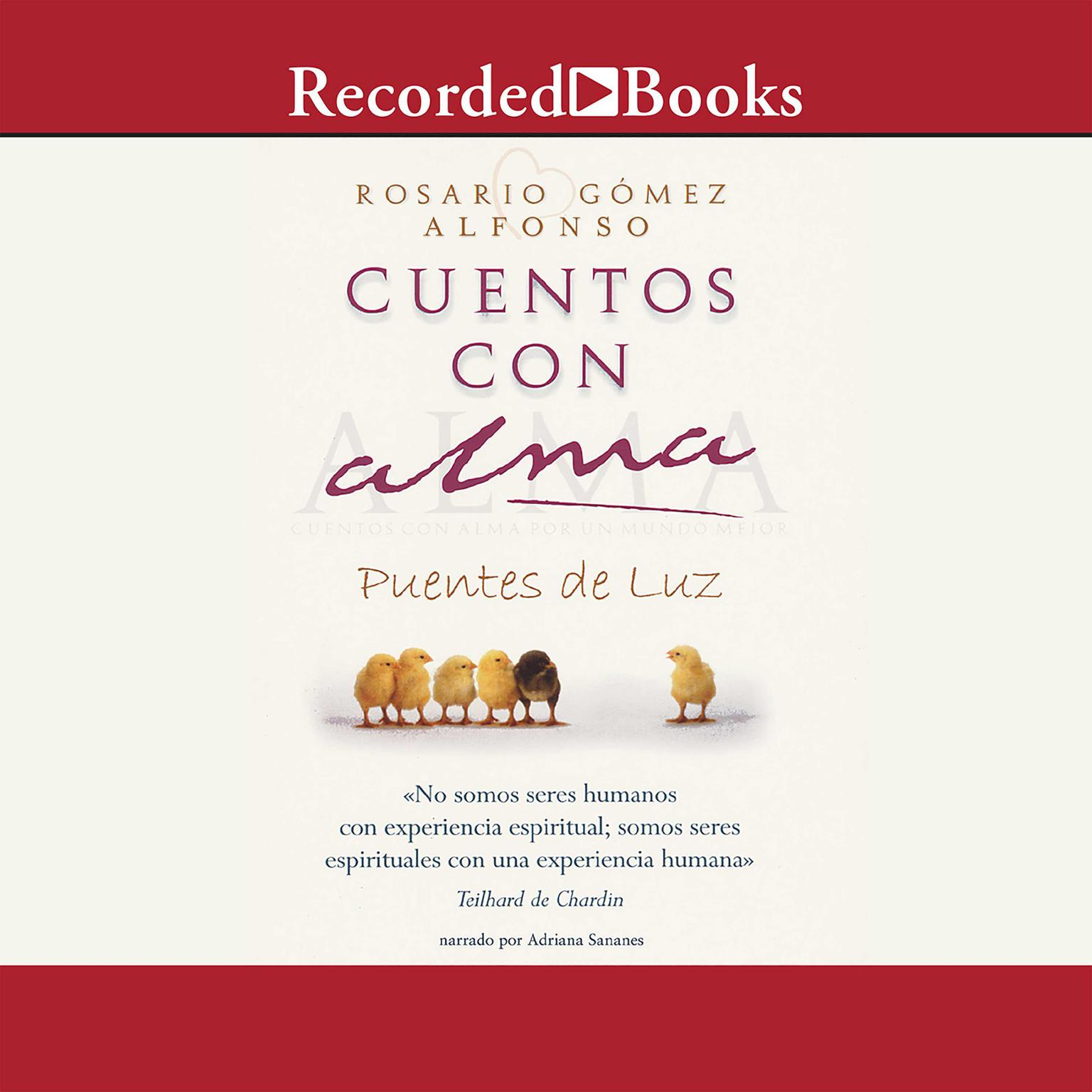 Printable Cuentos con alma Audiobook Cover Art