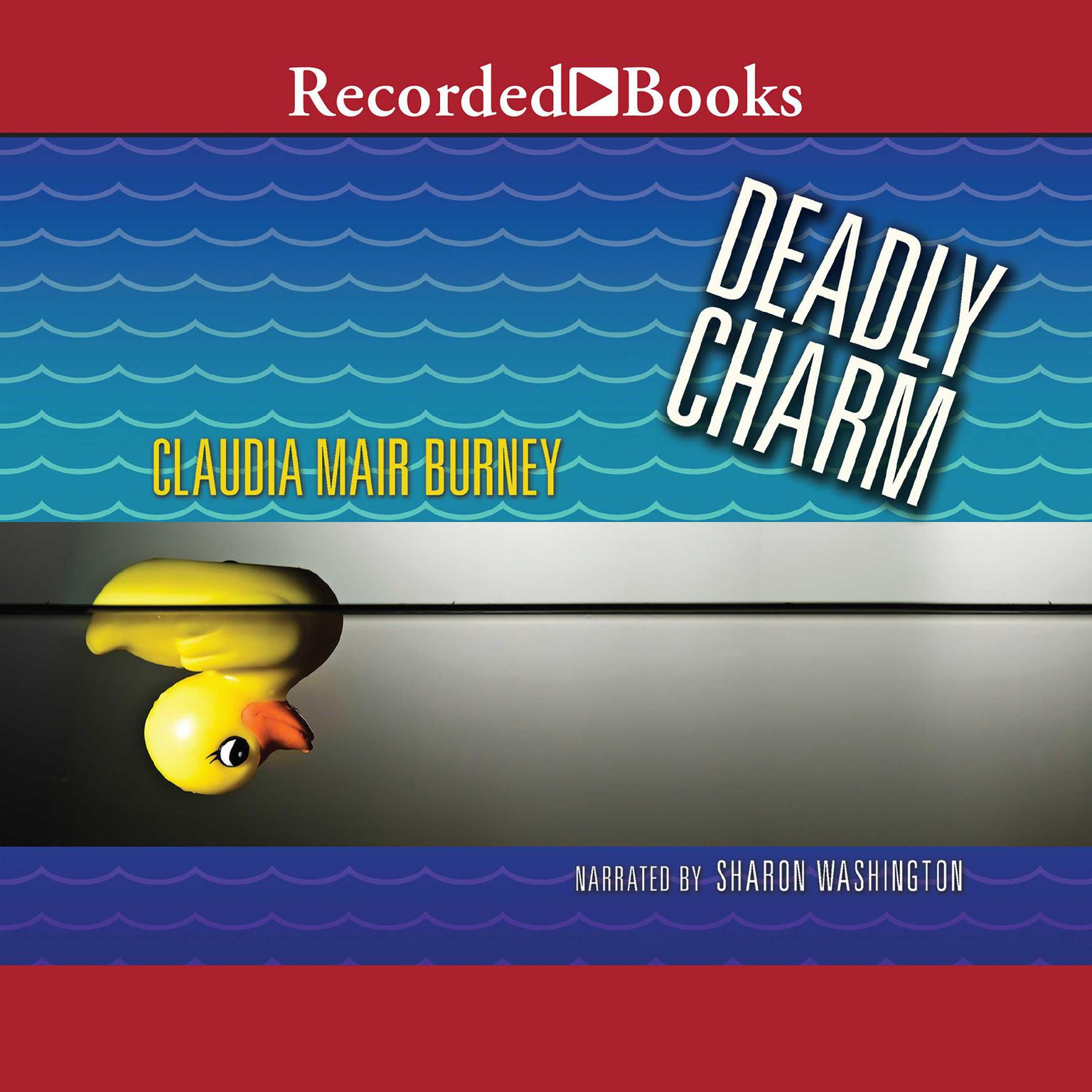 Printable Deadly Charm Audiobook Cover Art