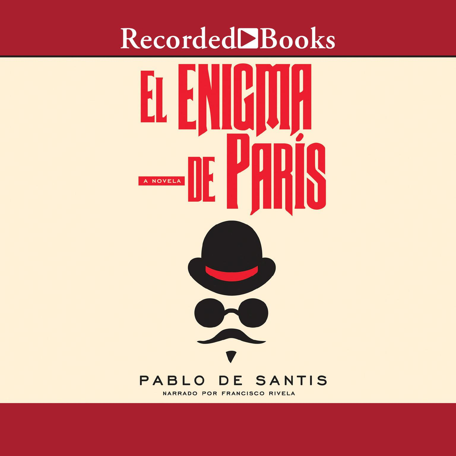 Printable El enigma de París Audiobook Cover Art