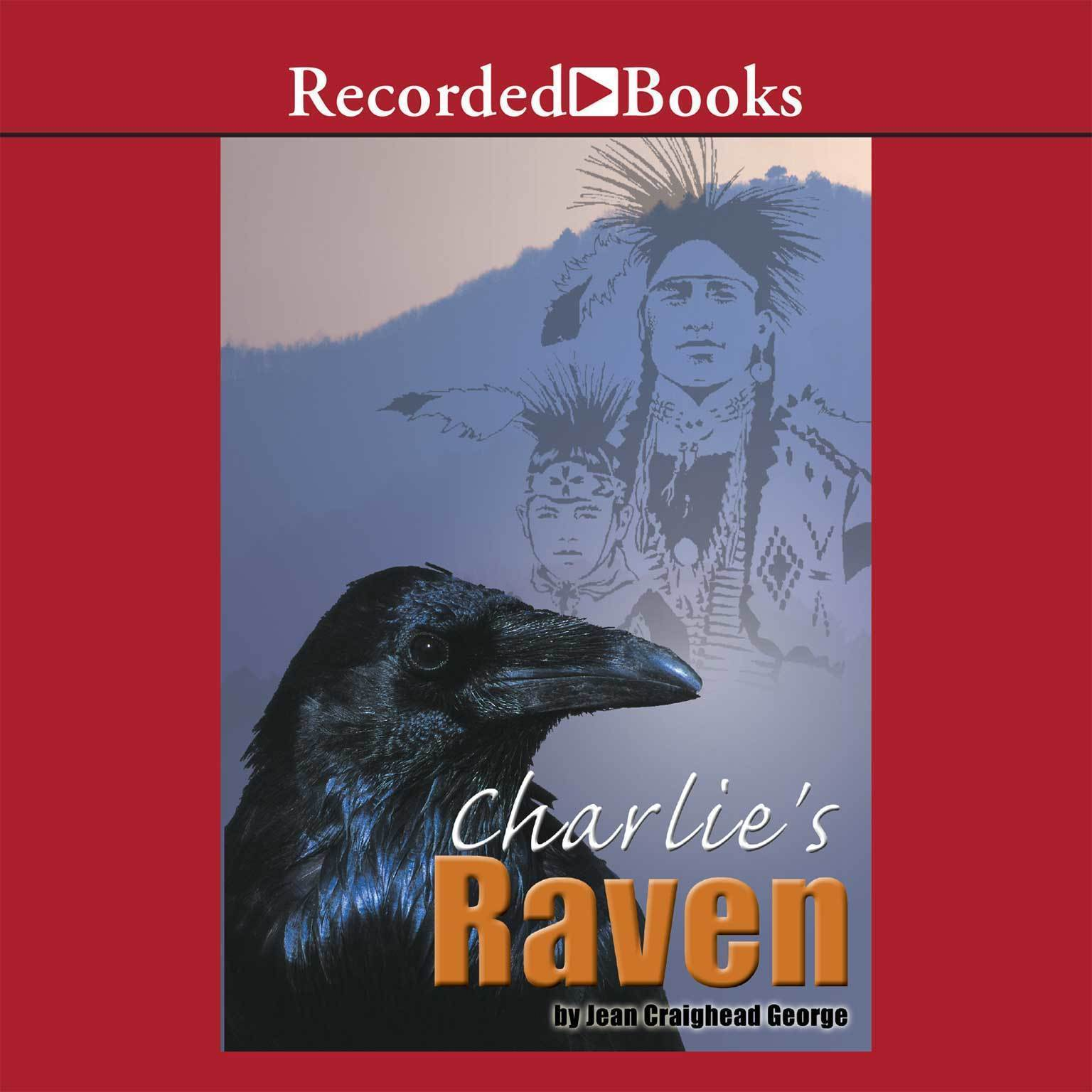 Printable Charlie's Raven Audiobook Cover Art