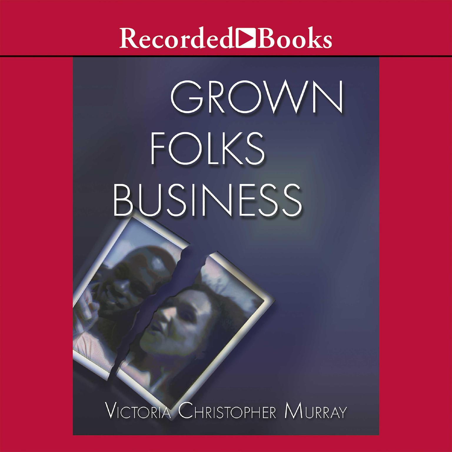 Printable Grown Folks Business Audiobook Cover Art