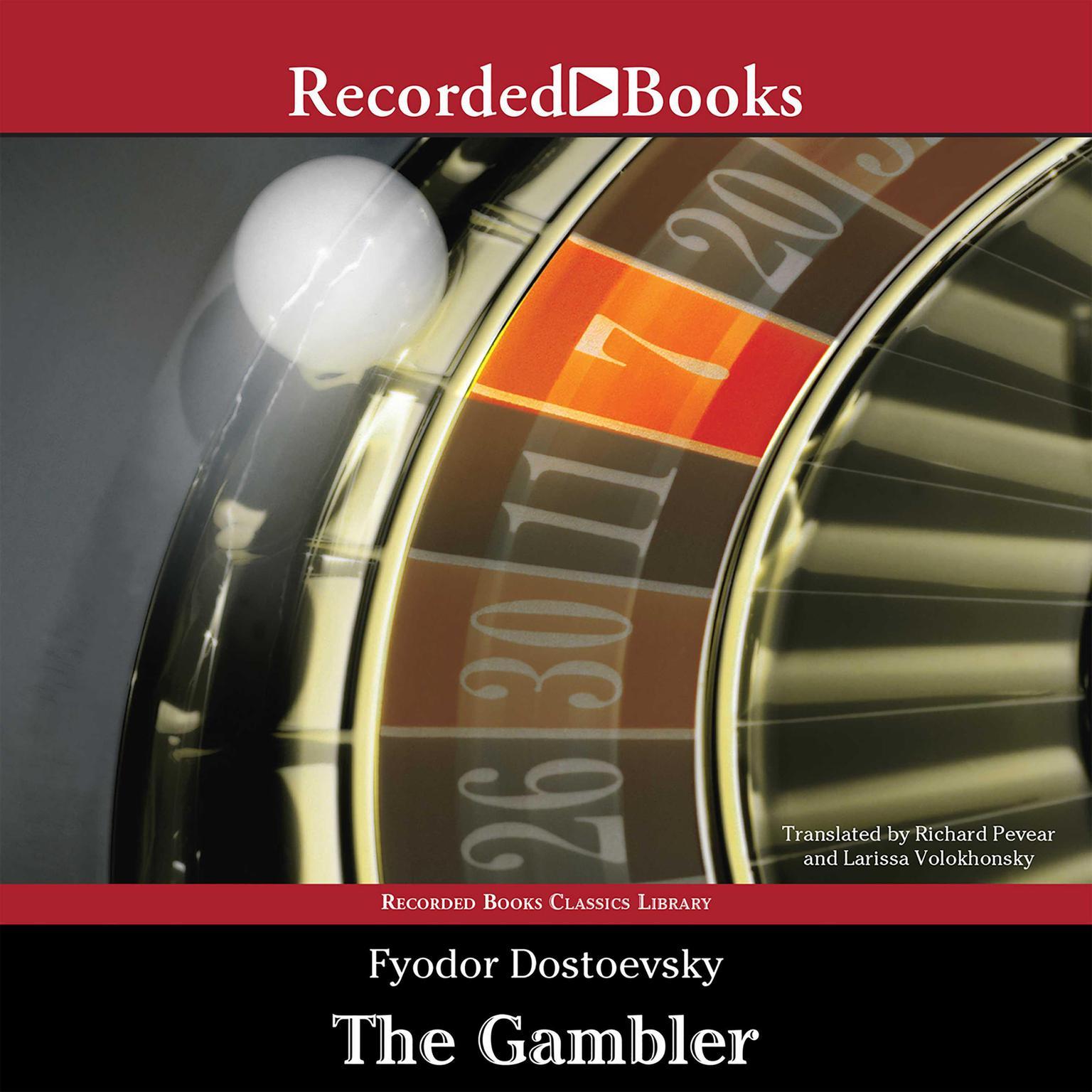 Printable The Gambler Audiobook Cover Art