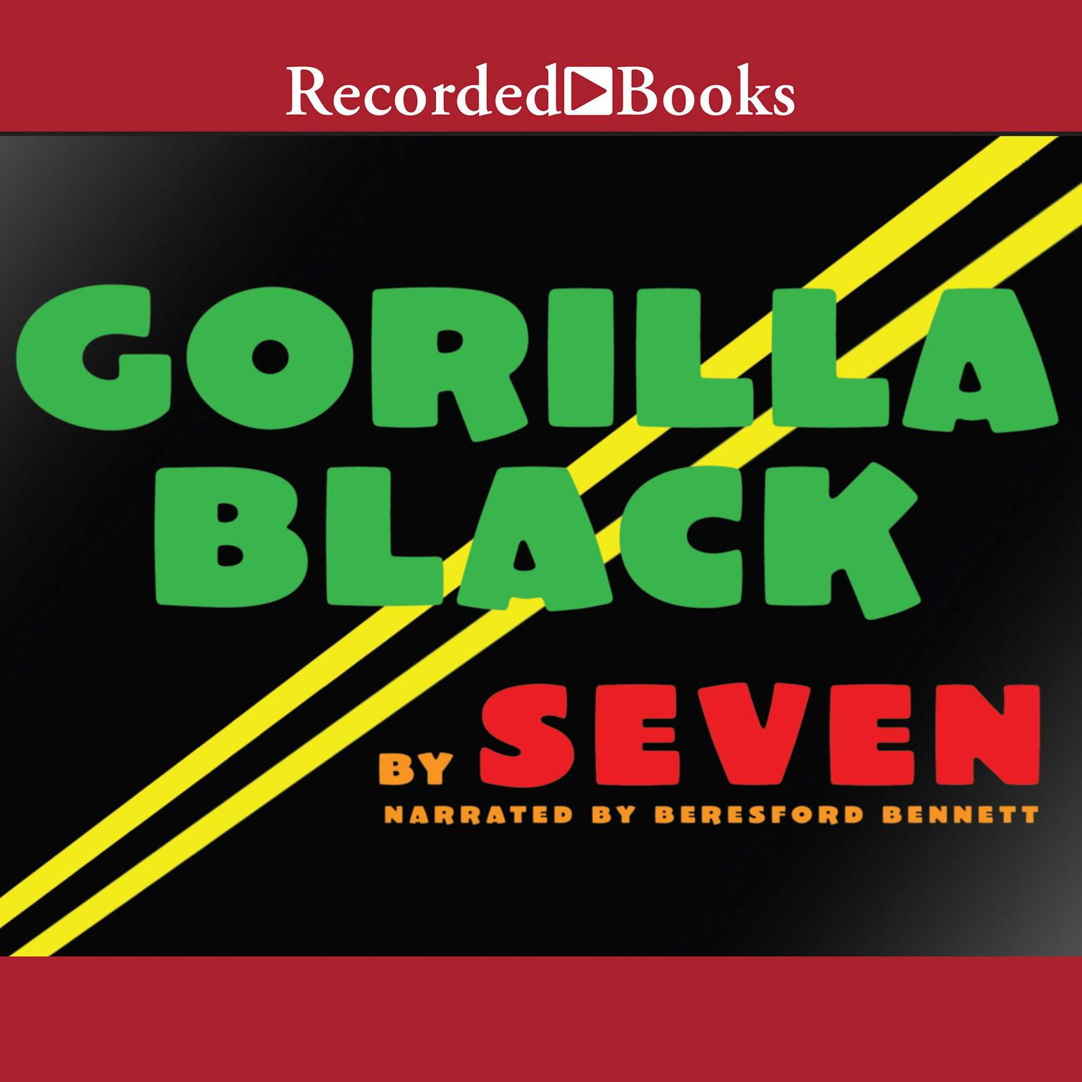 Printable Gorilla Black: A Novel Audiobook Cover Art