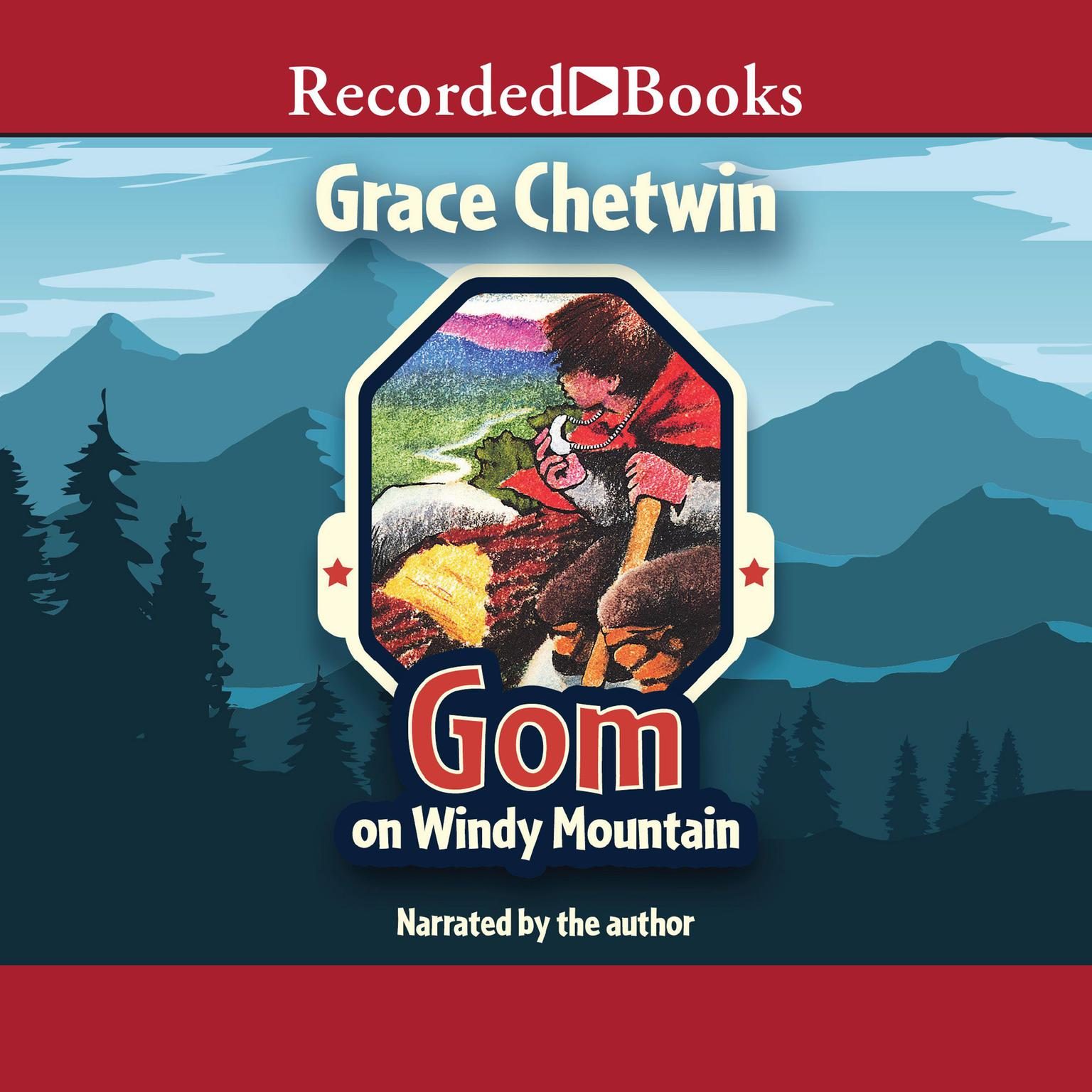 Printable Gom on Windy Mountain Audiobook Cover Art