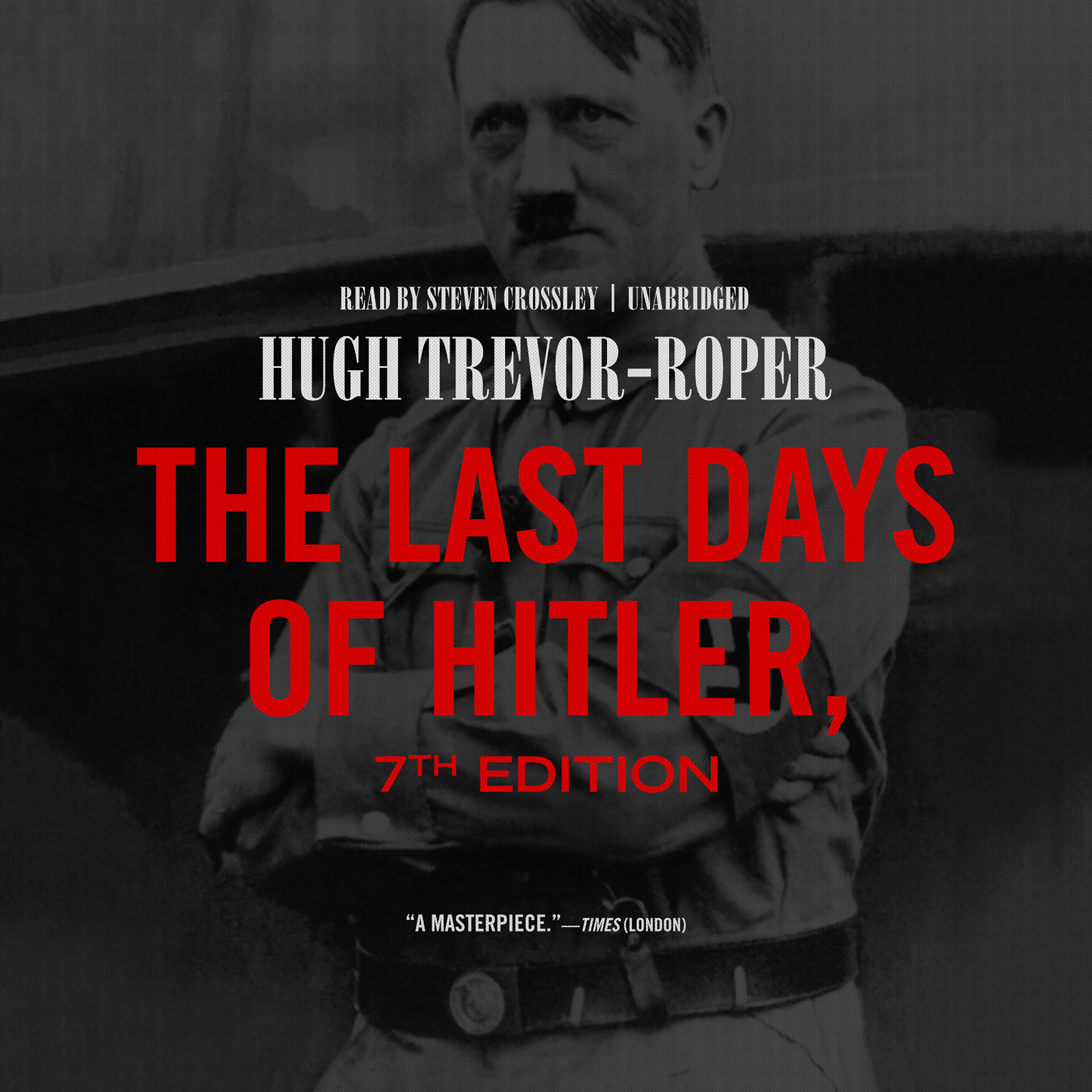 Printable The Last Days of Hitler, 7th Edition Audiobook Cover Art