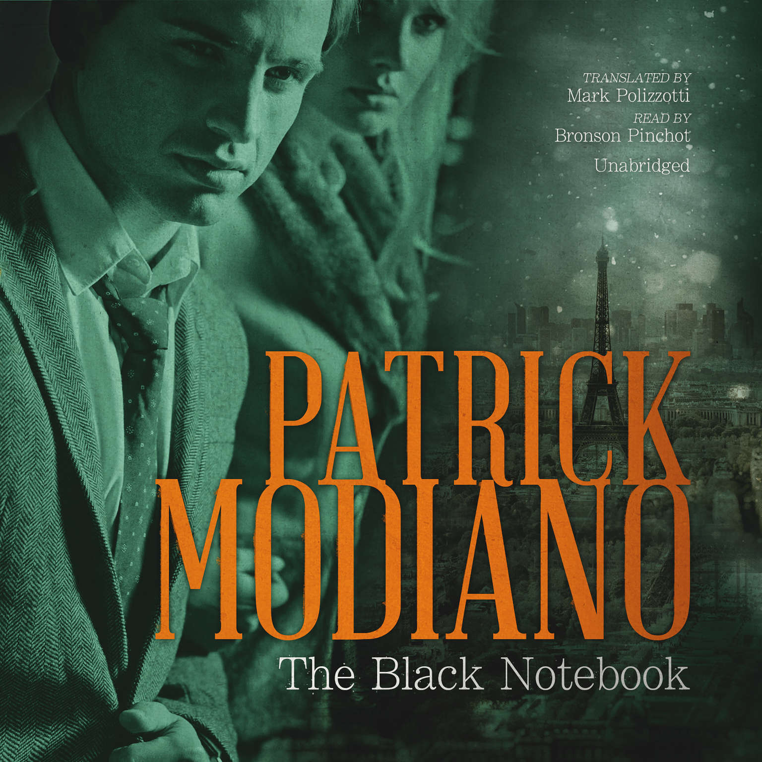 Printable The Black Notebook Audiobook Cover Art