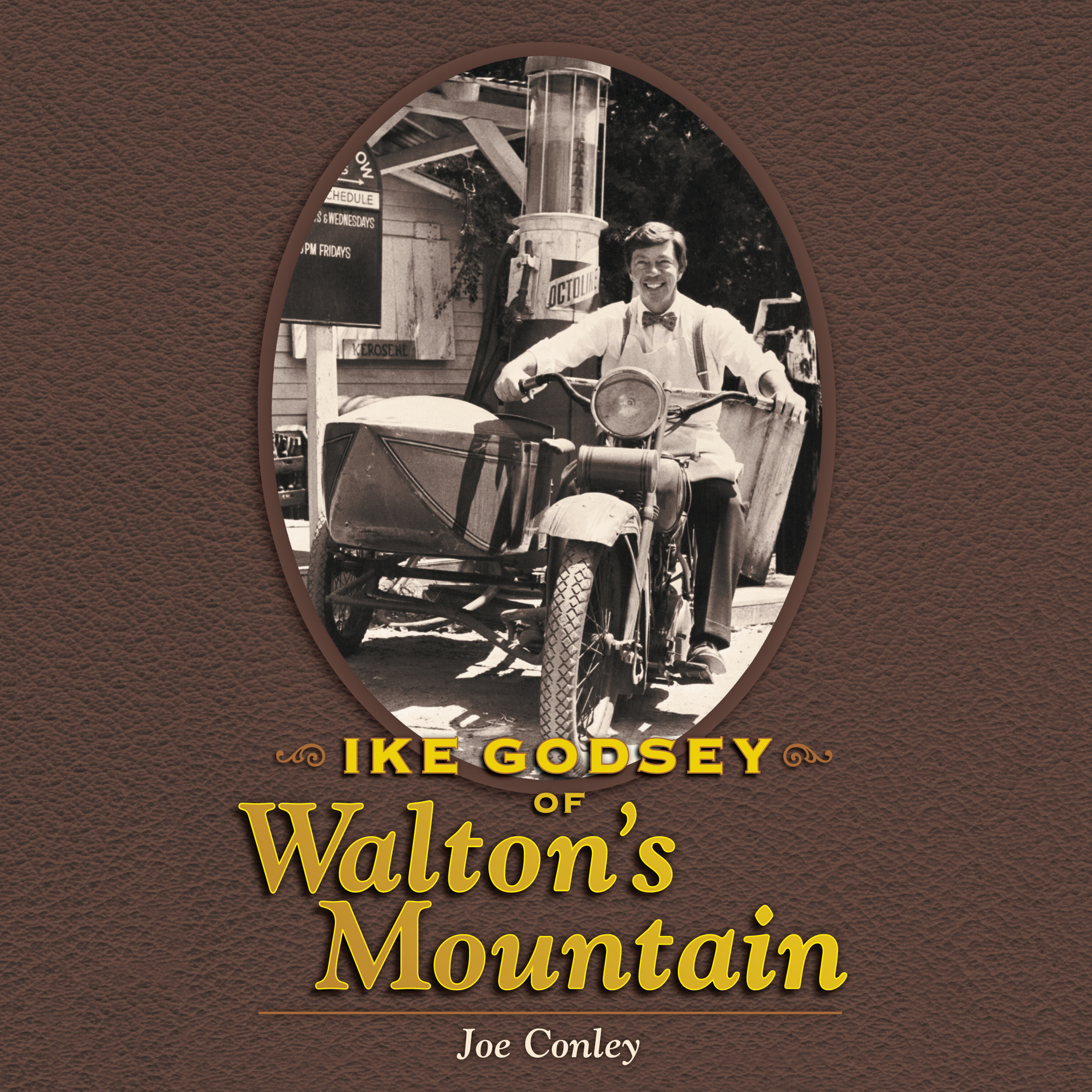 Printable Ike Godsey of Walton's Mountain Audiobook Cover Art