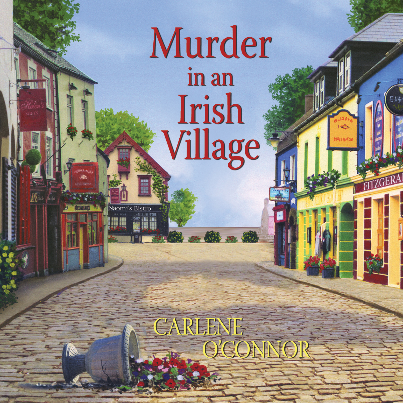 Printable Murder in an Irish Village Audiobook Cover Art