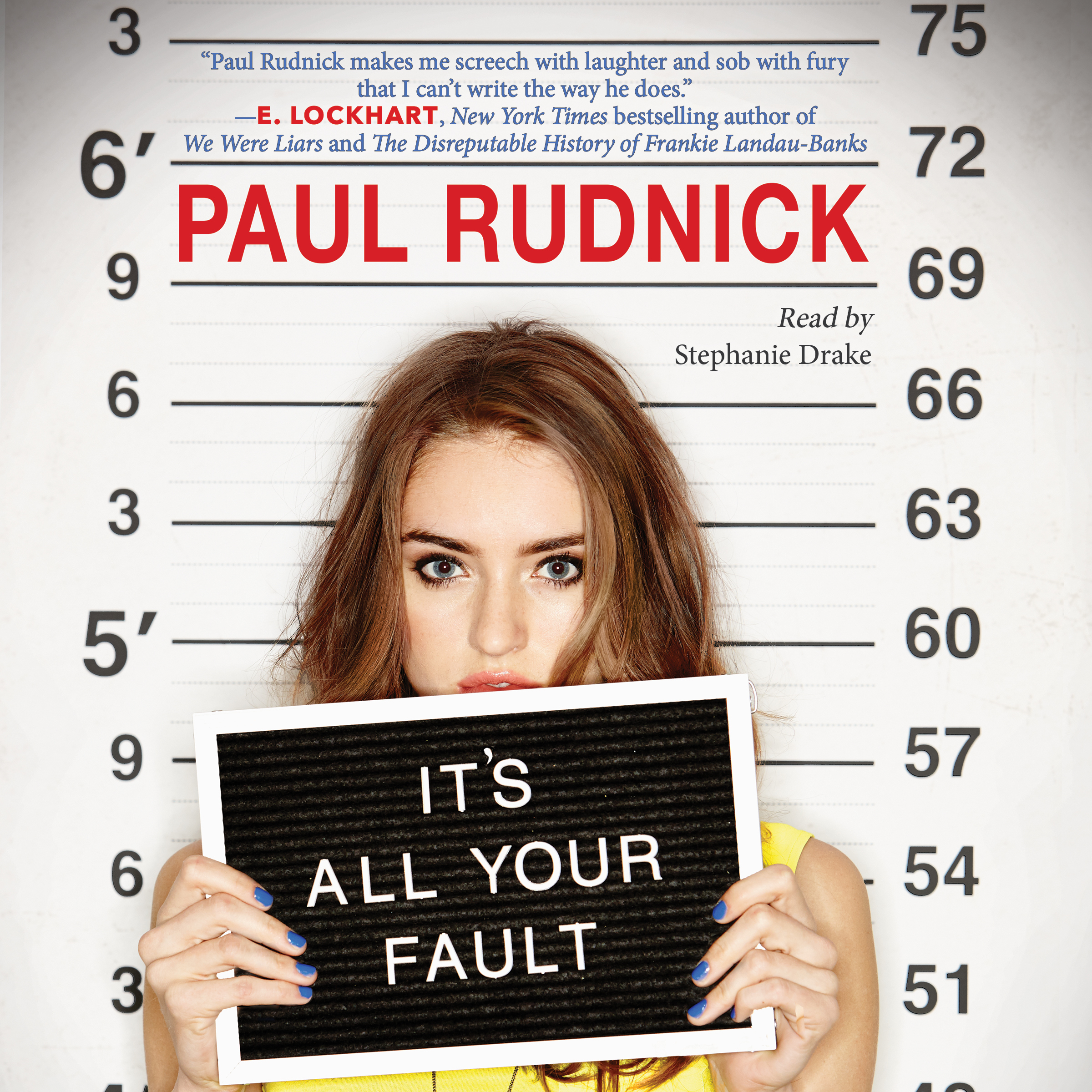 Printable It's All Your Fault Audiobook Cover Art