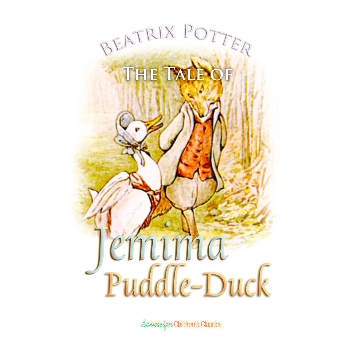 Printable The Tale of Jemima Puddle-Duck Audiobook Cover Art