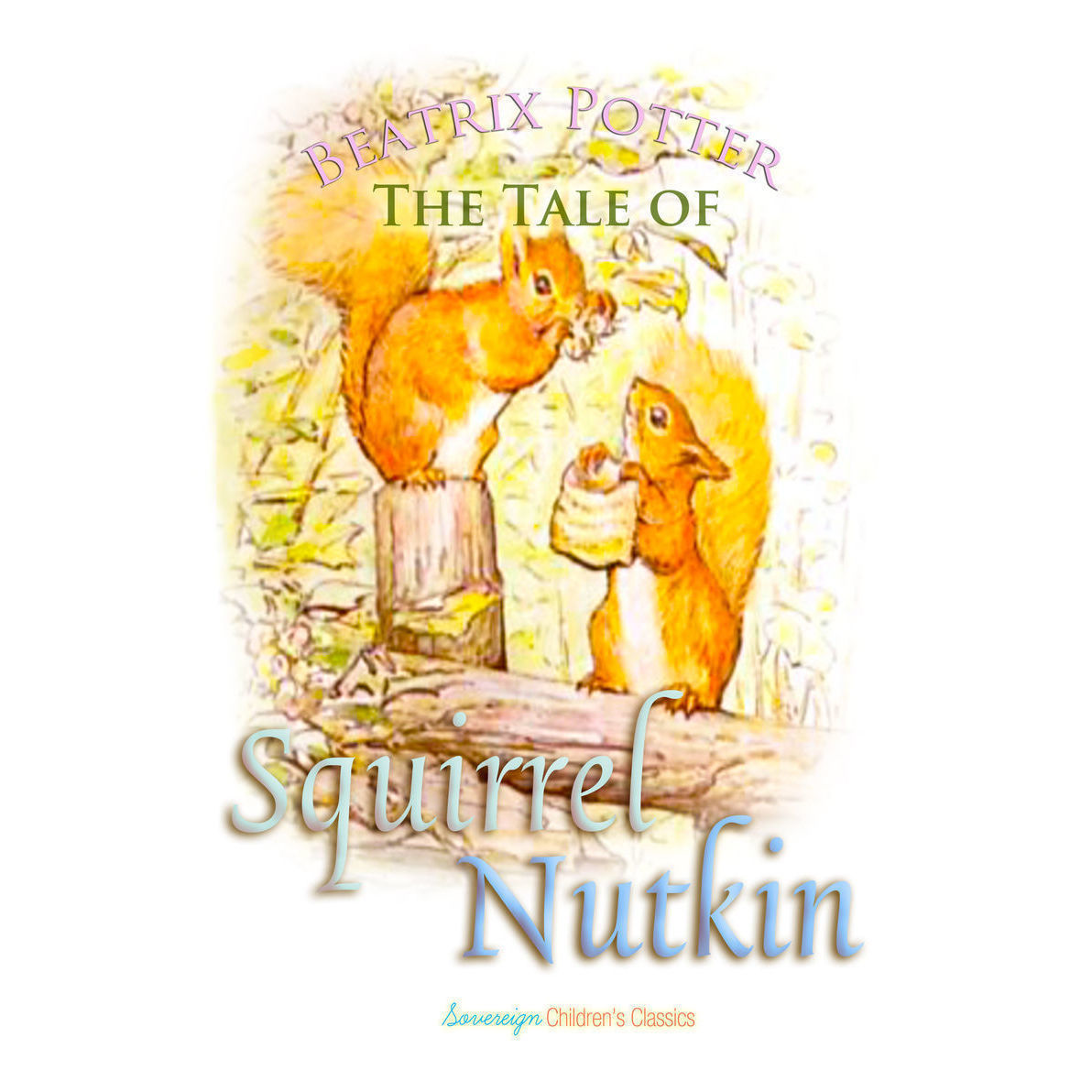 Printable The Tale of Squirrel Nutkin Audiobook Cover Art
