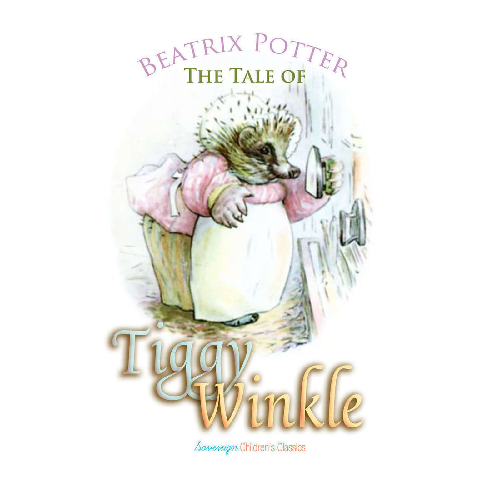 Printable The Tale of Mrs. Tiggy-Winkle Audiobook Cover Art