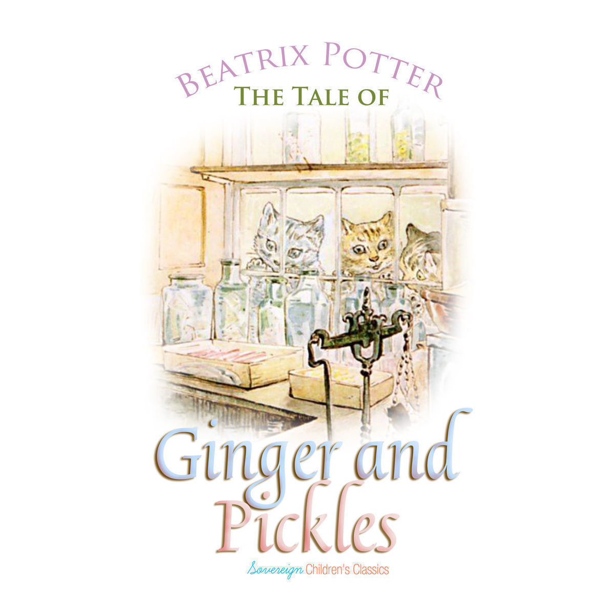 Printable The Tale of Ginger and Pickles Audiobook Cover Art