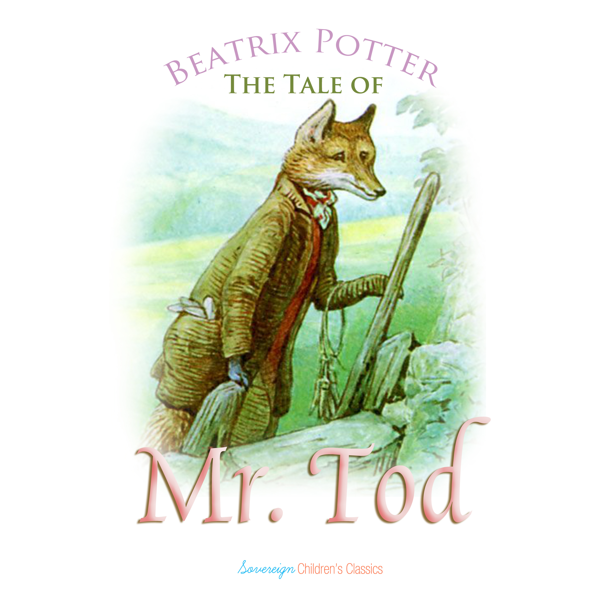 Printable The Tale of Mr. Tod Audiobook Cover Art