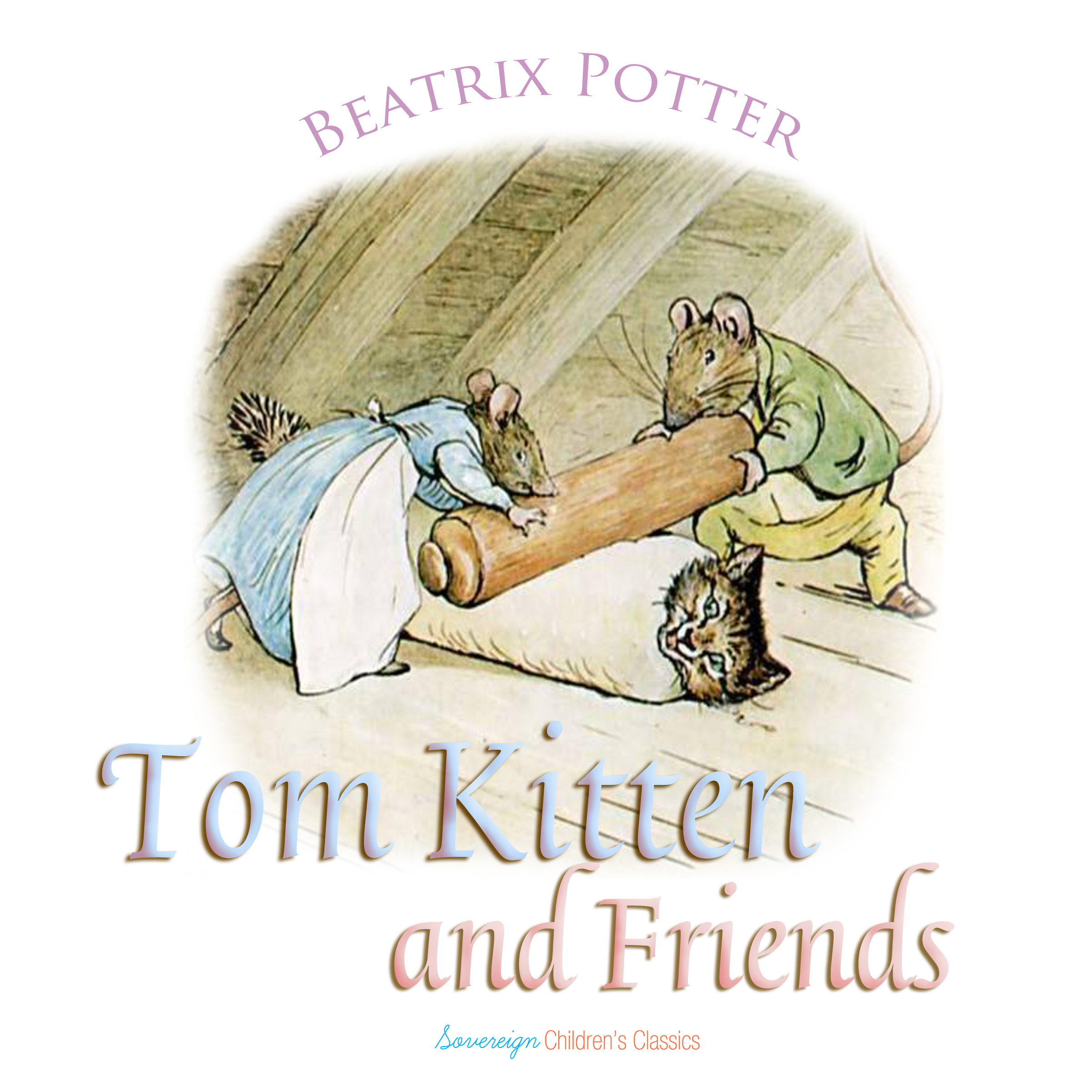 Printable Tom Kitten and Friends Audiobook Cover Art