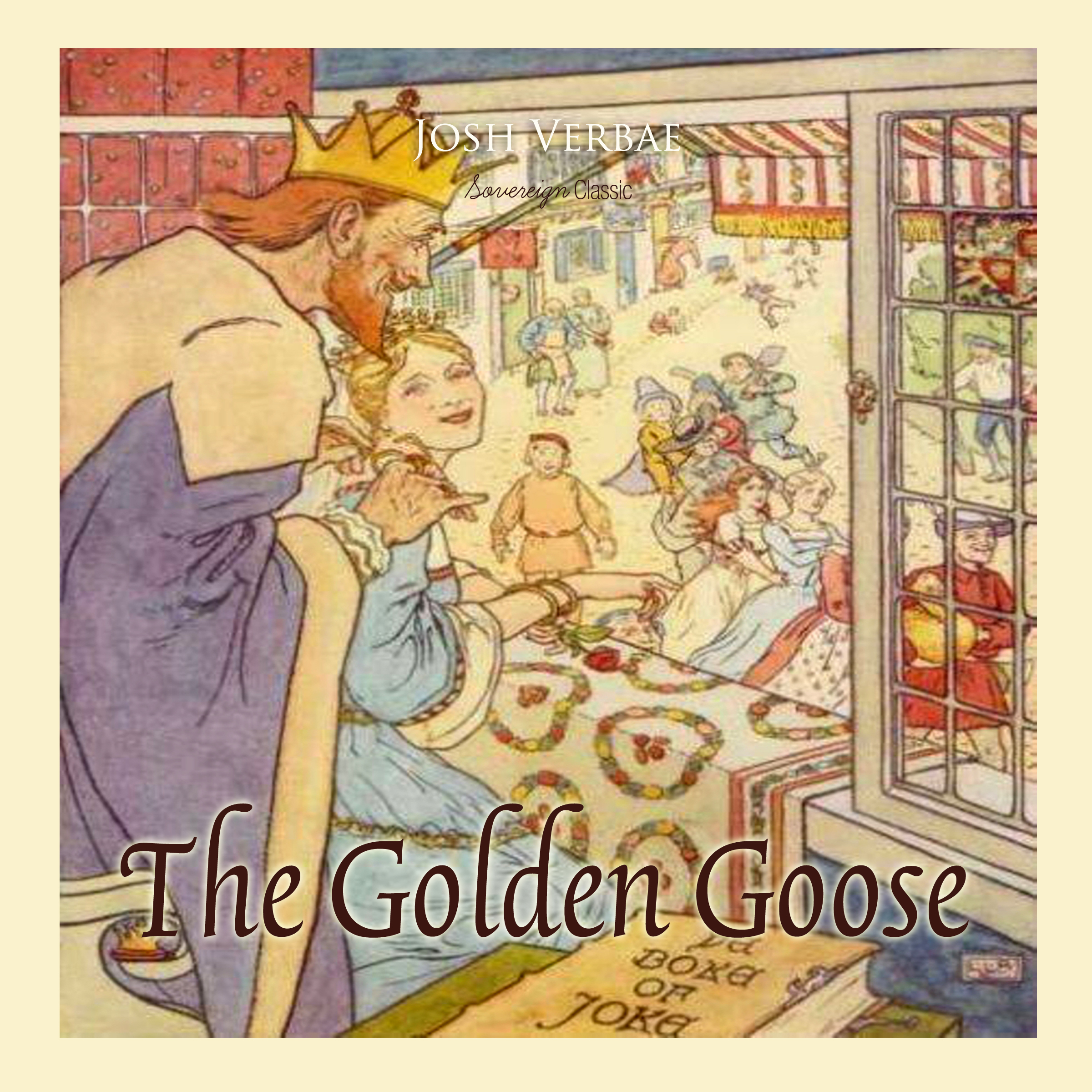 Printable The Golden Goose Audiobook Cover Art