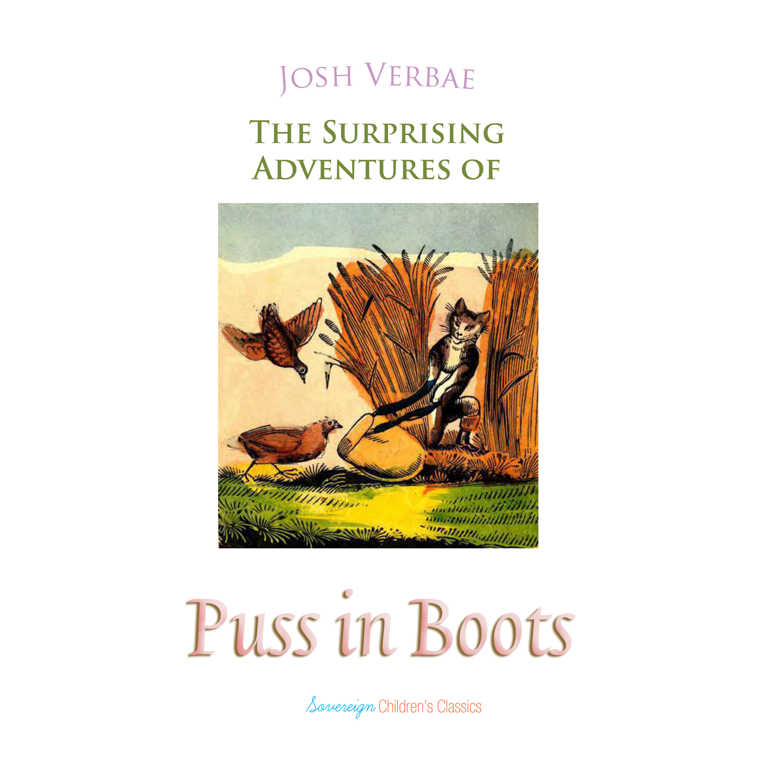 Printable The Surprising Adventures of Puss in Boots Audiobook Cover Art