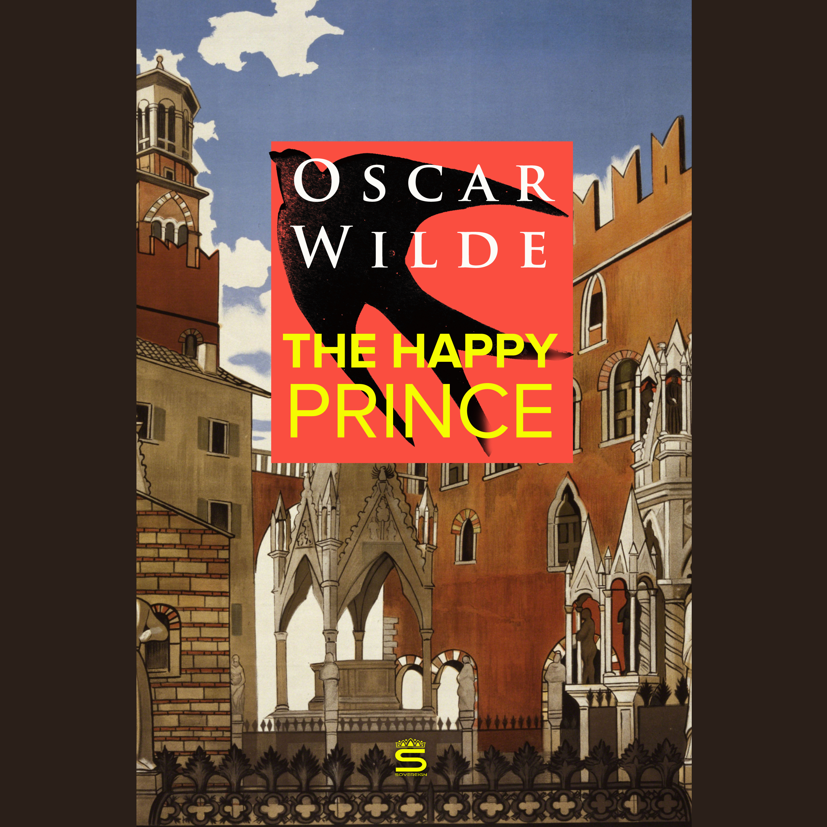 Printable The Happy Prince Audiobook Cover Art