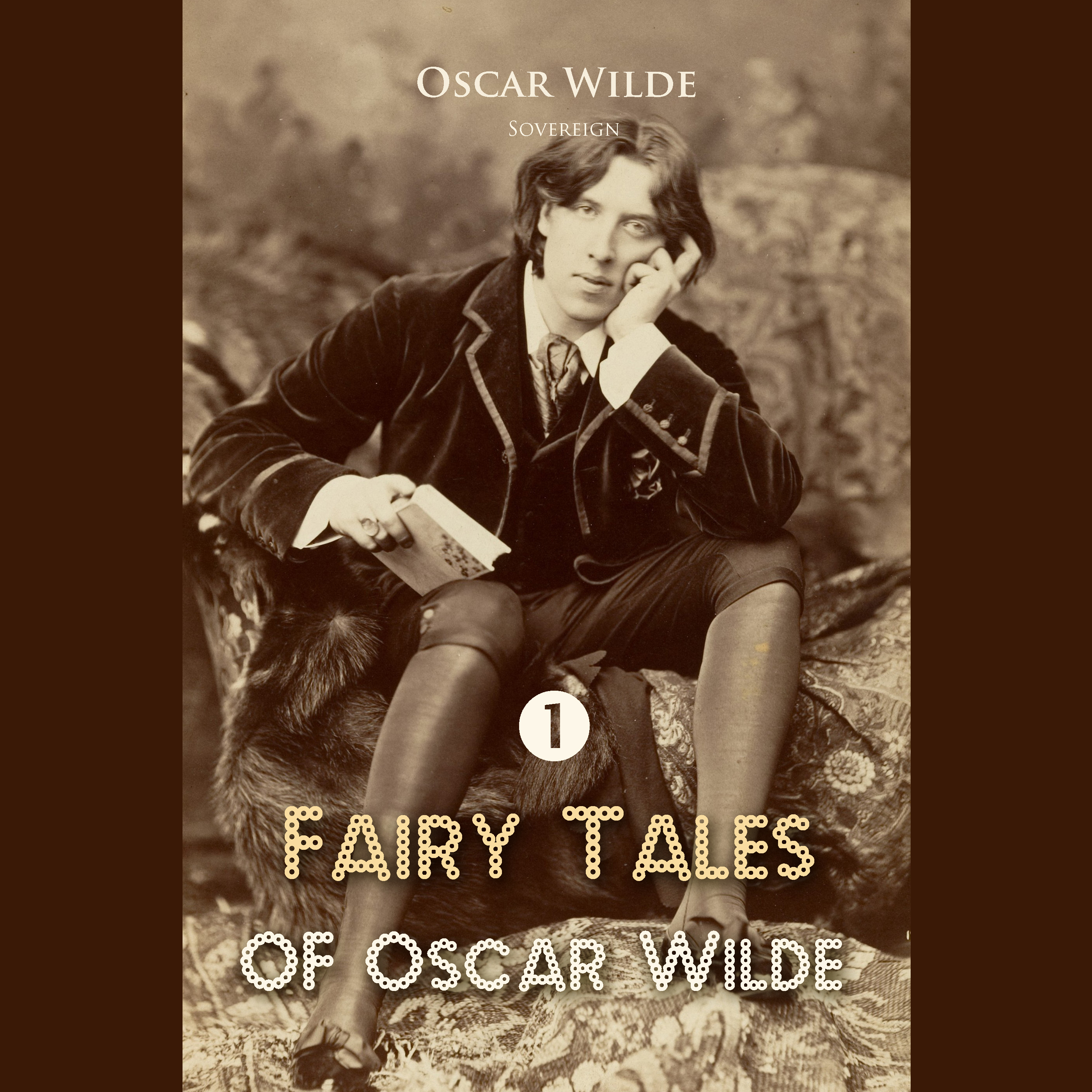 Printable Fairy Tales of Oscar Wilde Volume 1 Audiobook Cover Art