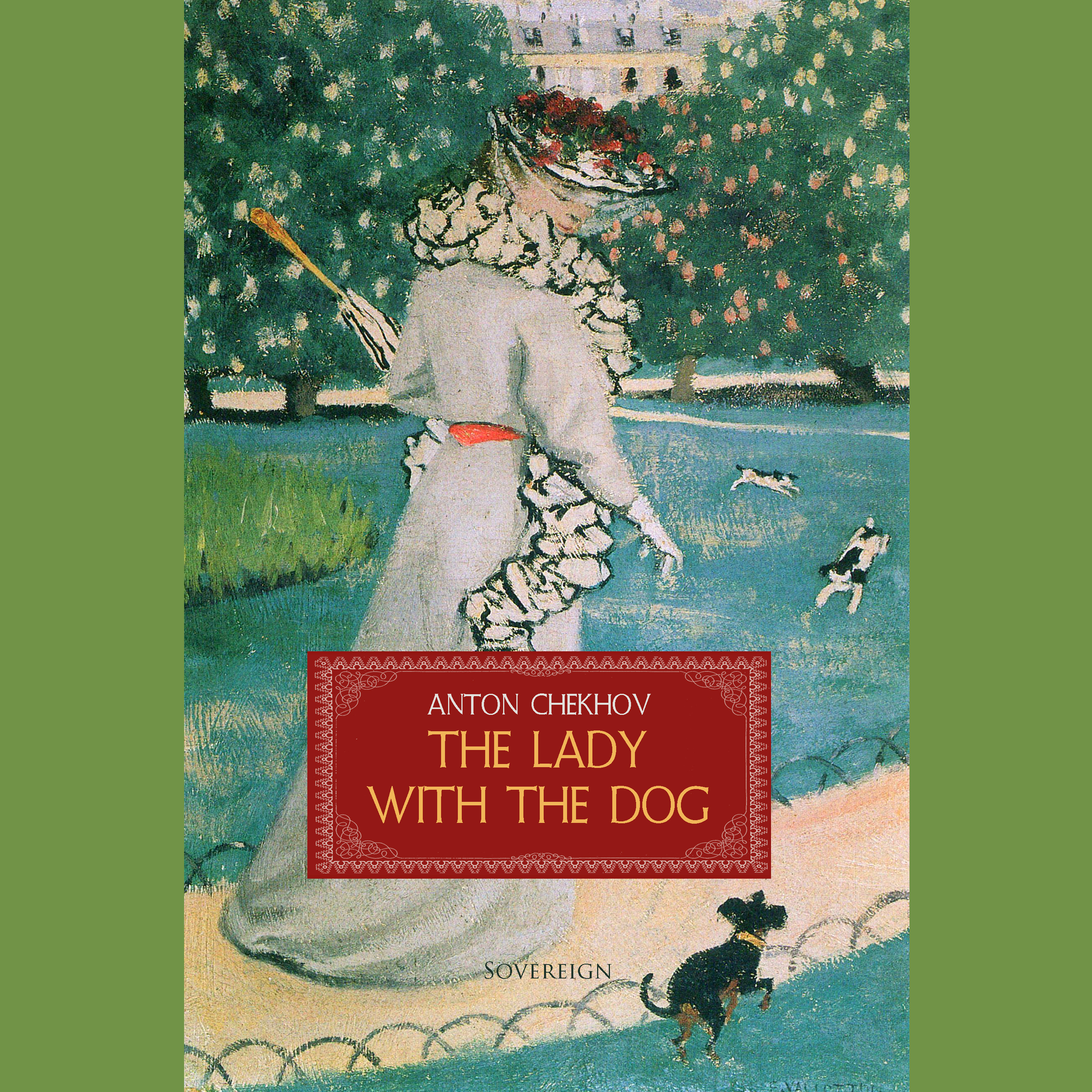 Printable The Lady with the Dog Audiobook Cover Art