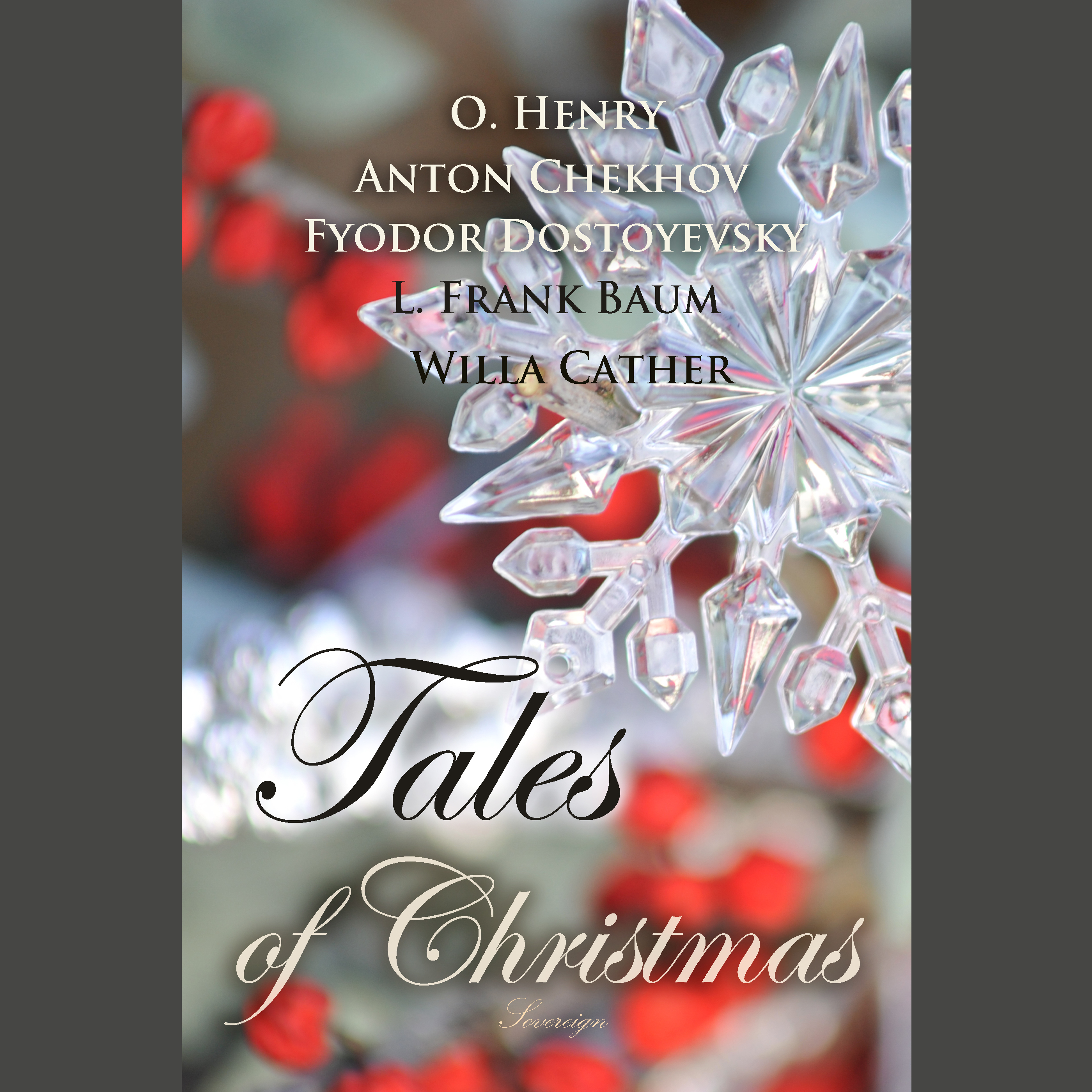 Printable Tales of Christmas Audiobook Cover Art
