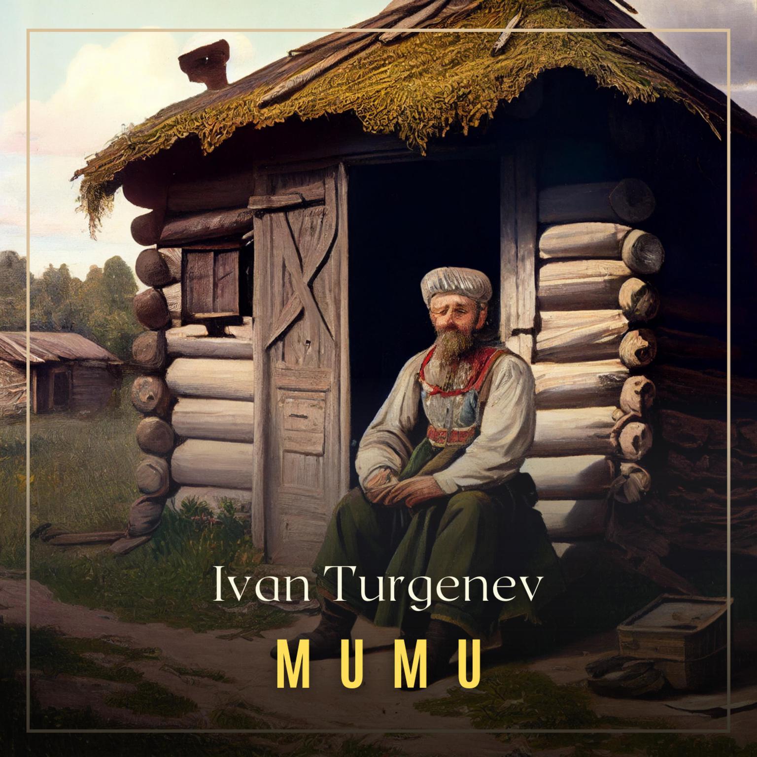 Printable Mumu Audiobook Cover Art