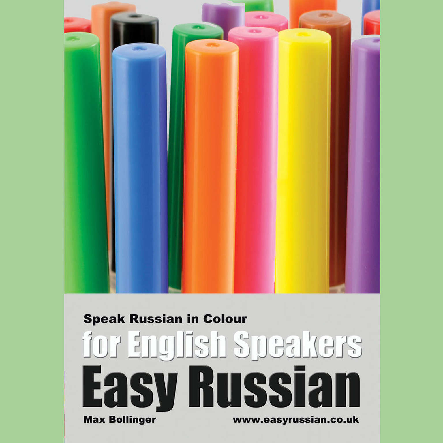 Printable Easy Russian for English Speakers Volume 3: Speak Russian in Colour, Express Emotions, Discuss Weather, Art, Music, Film, Likes  Audiobook Cover Art