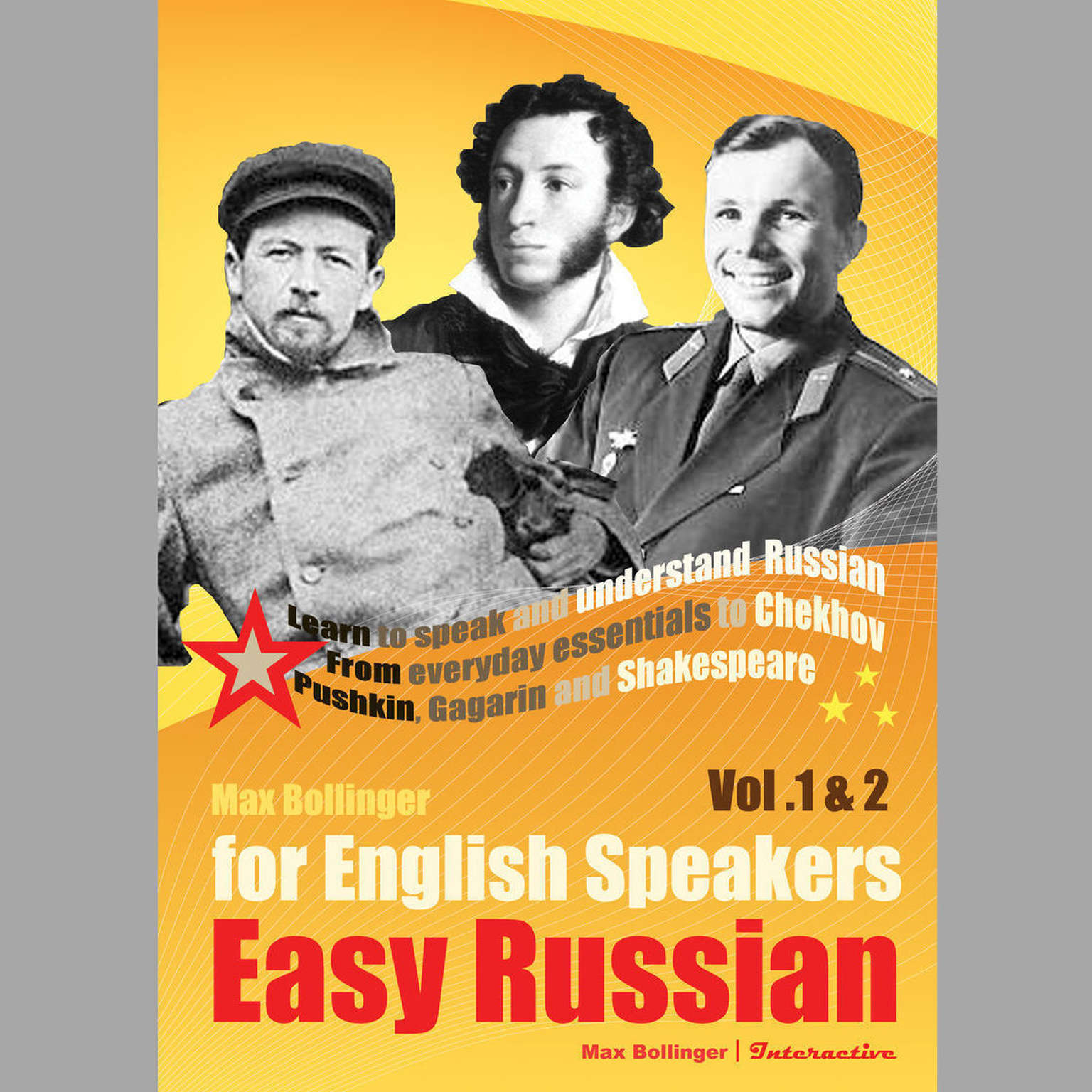 Printable Easy Russian for English Speakers: Learn to Speak and Understand Russian Audiobook Cover Art