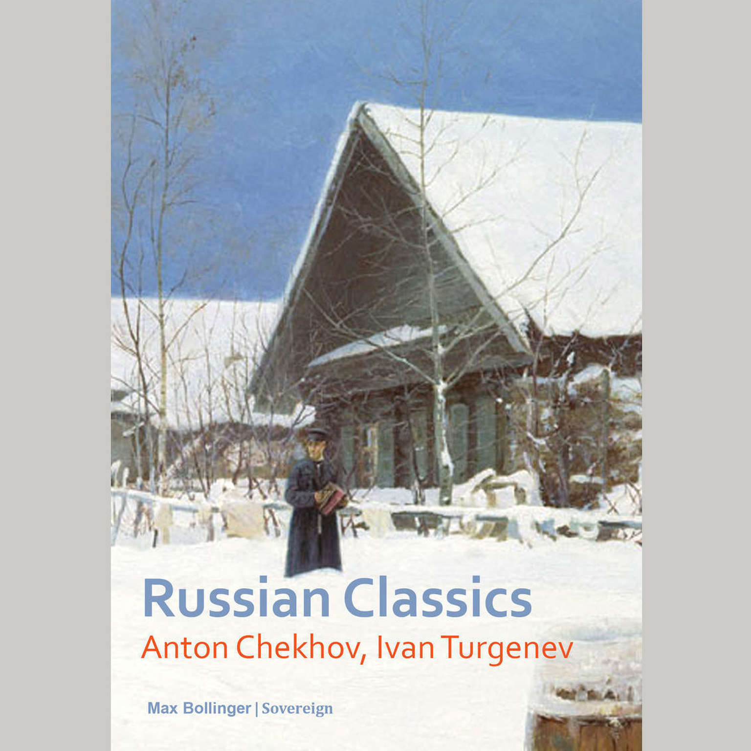 Printable Russian Classics: The Helpmate and Other Stories Audiobook Cover Art