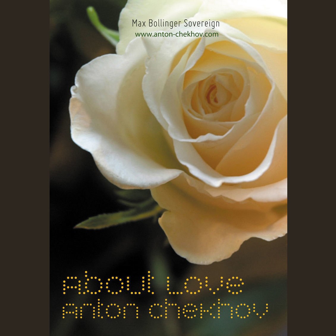 Printable Anton Chekhov About Love Audiobook Cover Art