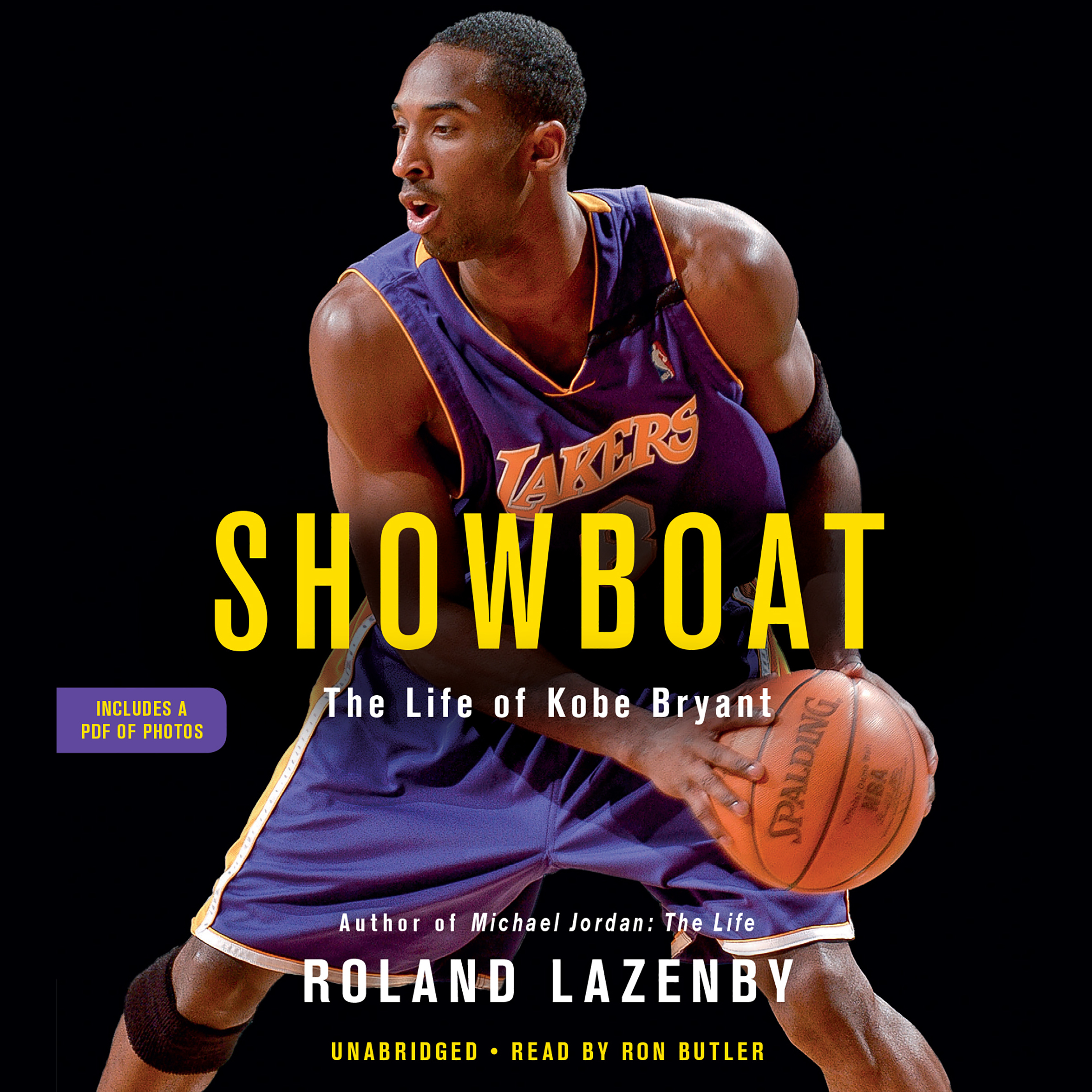 Printable Showboat: The Life of Kobe Bryant Audiobook Cover Art