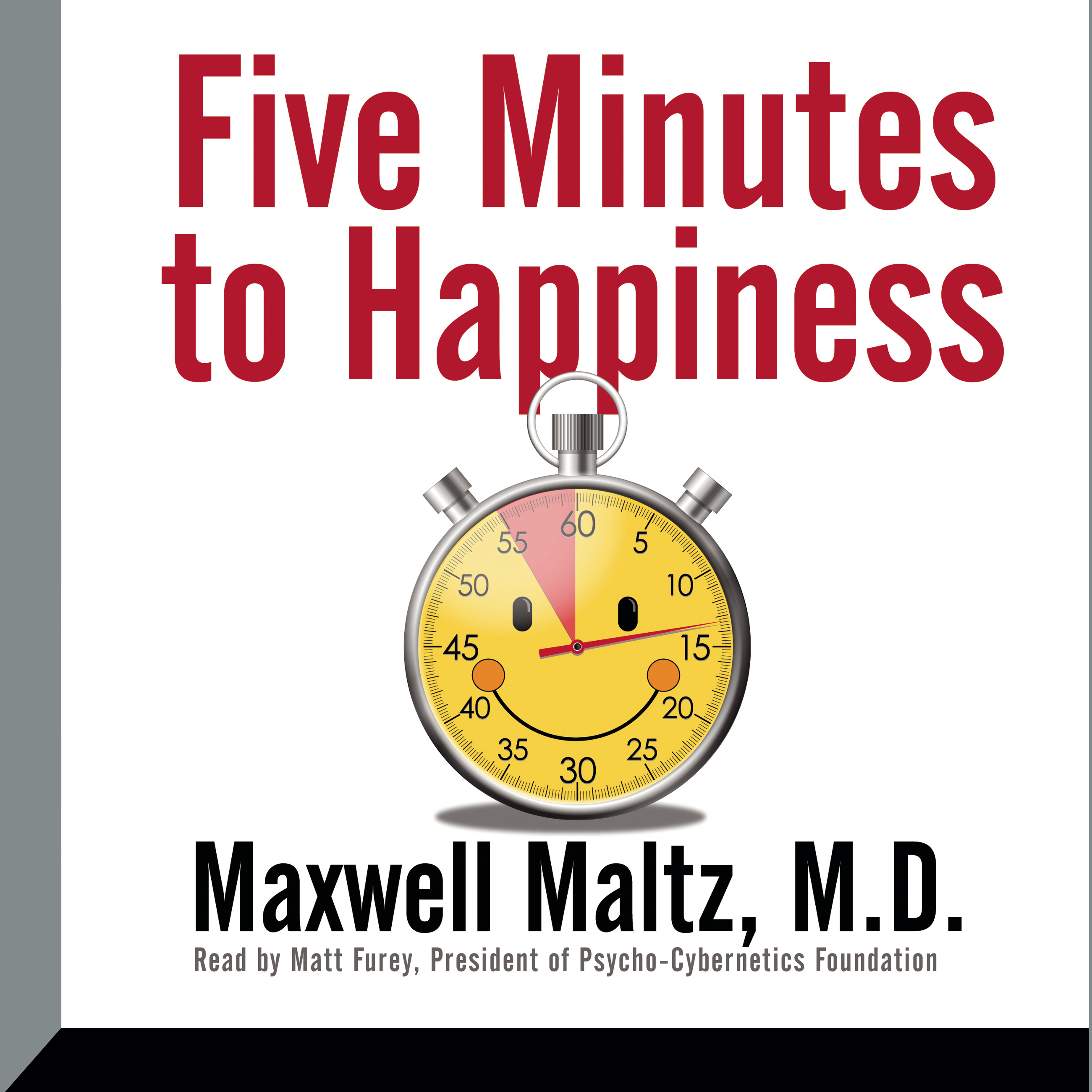 Printable Five Minutes to Happiness Audiobook Cover Art