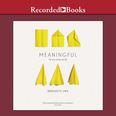 Meaningful: The Story of Ideas That Fly Audiobook, by Bernadette Jiwa
