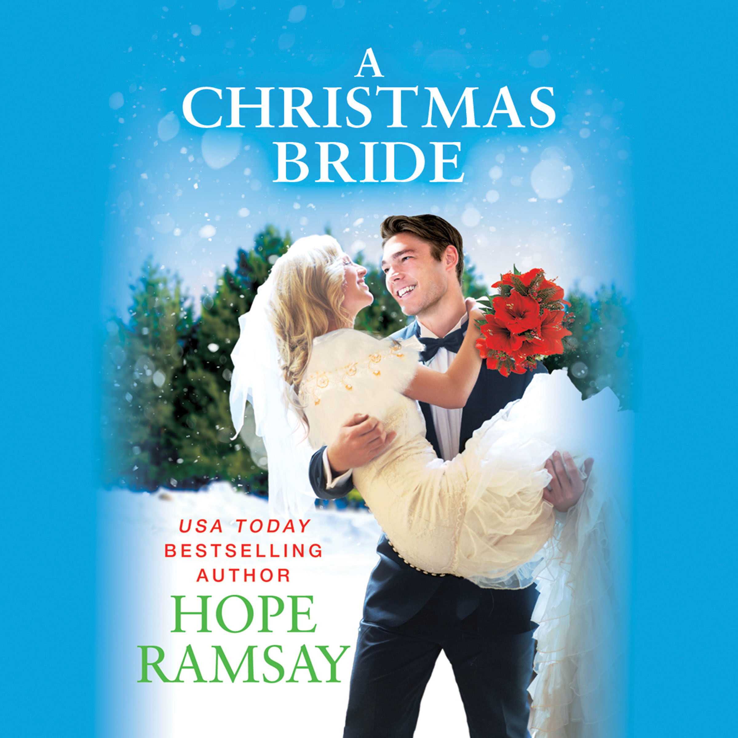 Printable A Christmas Bride Audiobook Cover Art