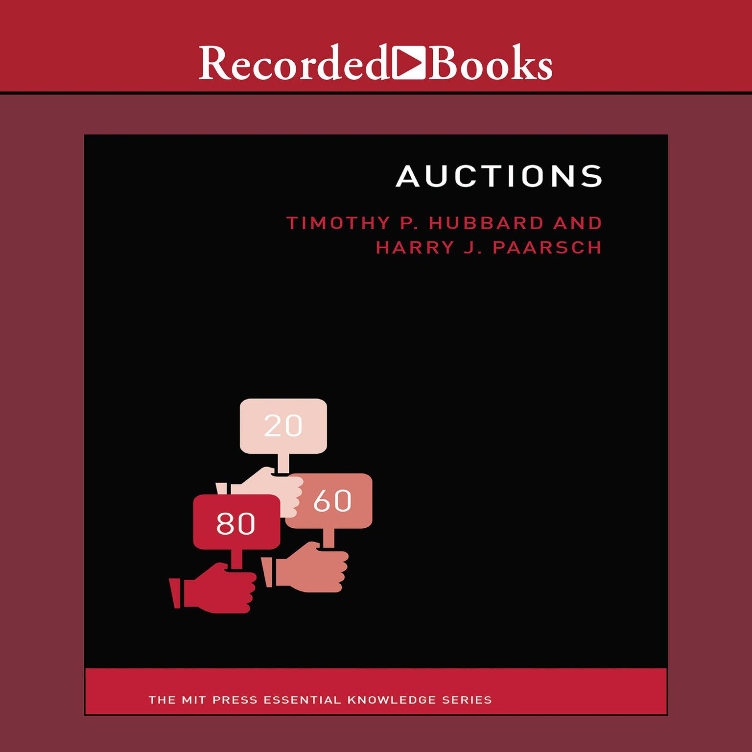 Printable Auctions: The MIT Press Essential Knowledge Series Audiobook Cover Art