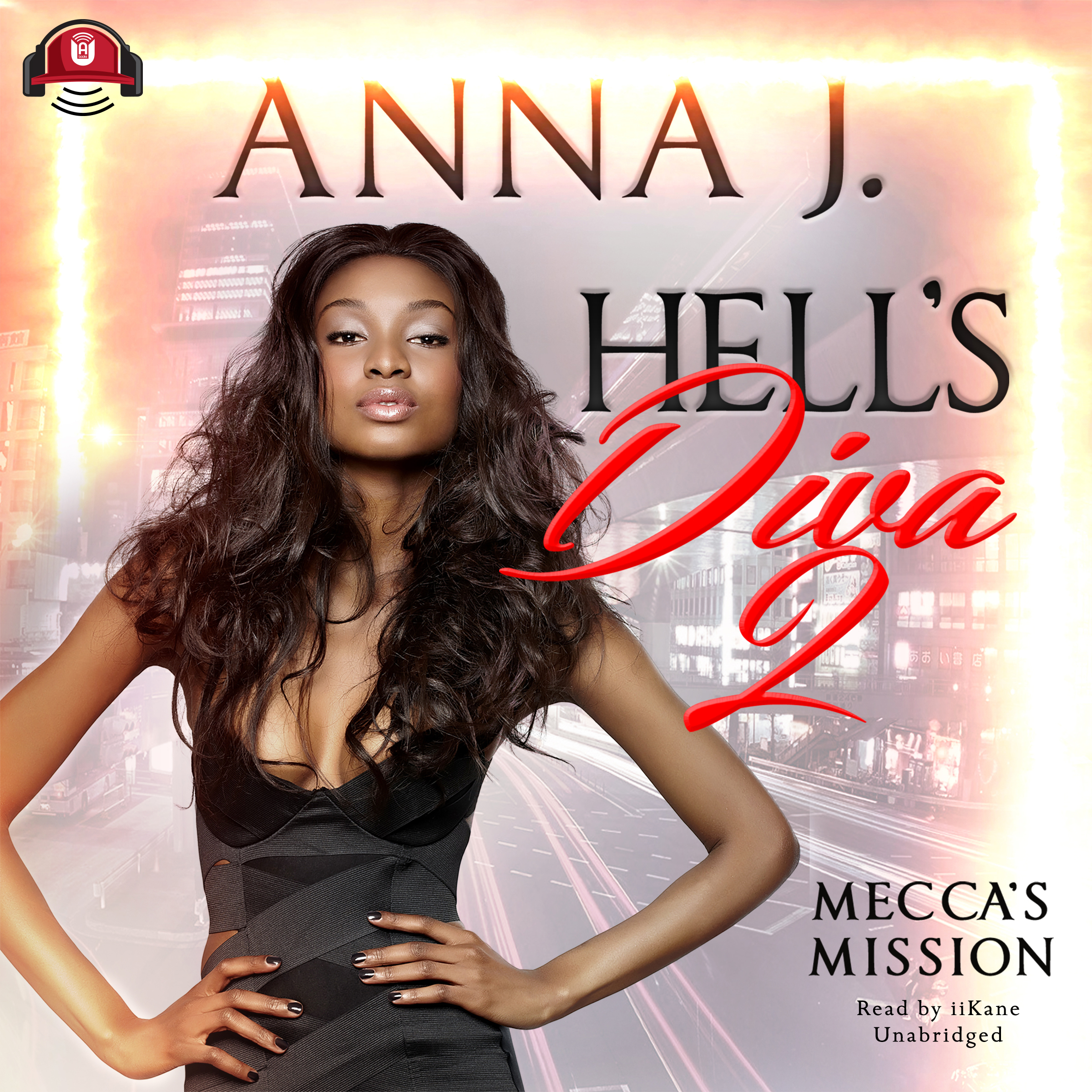 Printable Hell's Diva 2: Mecca's Mission Audiobook Cover Art