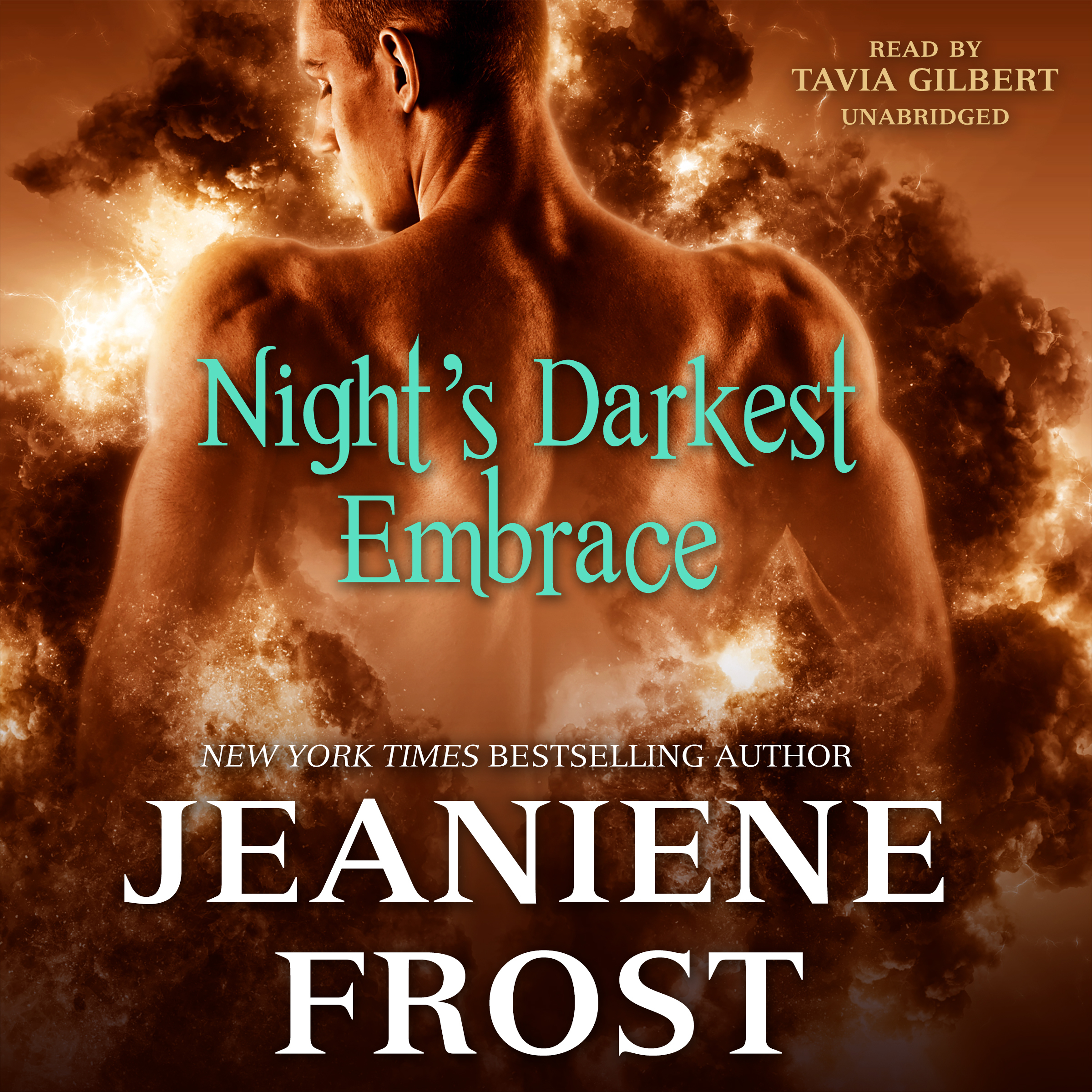 Printable Night's Darkest Embrace Audiobook Cover Art