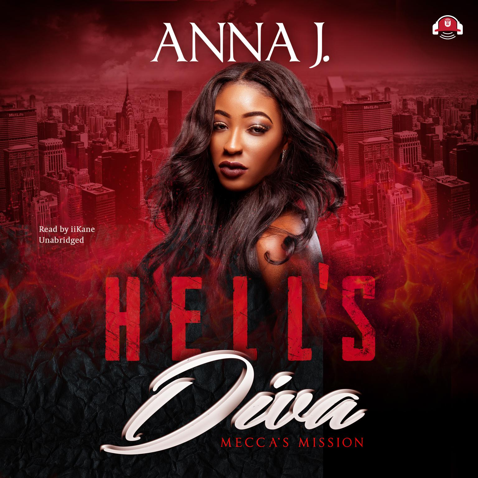 Printable Hell's Diva: Mecca's Mission Audiobook Cover Art