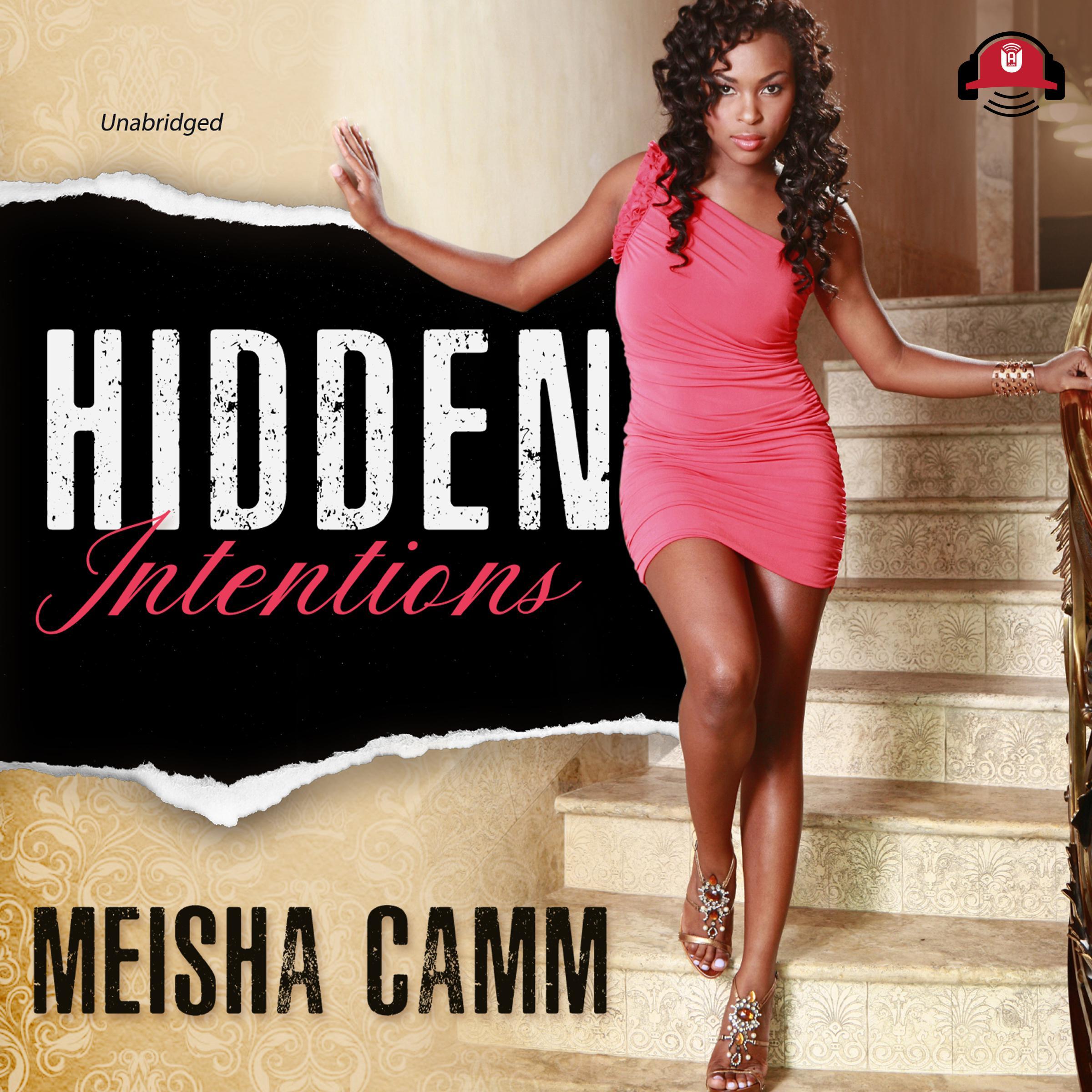 Printable Hidden Intentions Audiobook Cover Art
