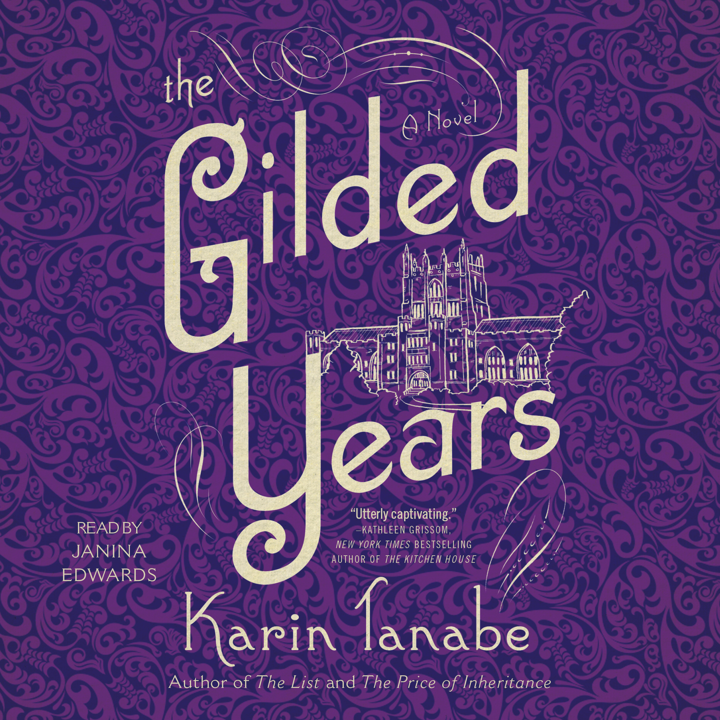 Printable The Gilded Years: A Novel Audiobook Cover Art
