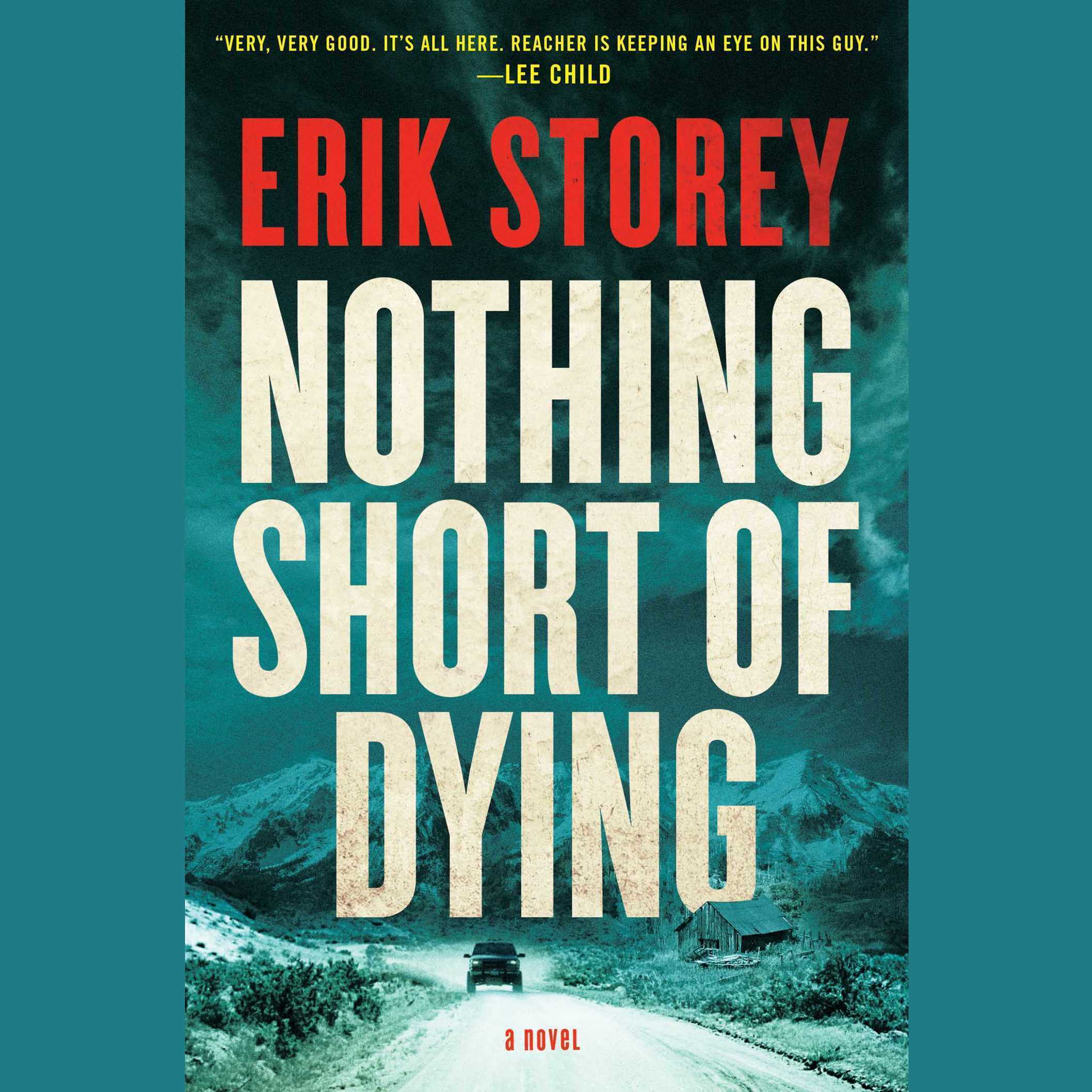 Printable Nothing Short of Dying: A Clyde Barr Novel Audiobook Cover Art