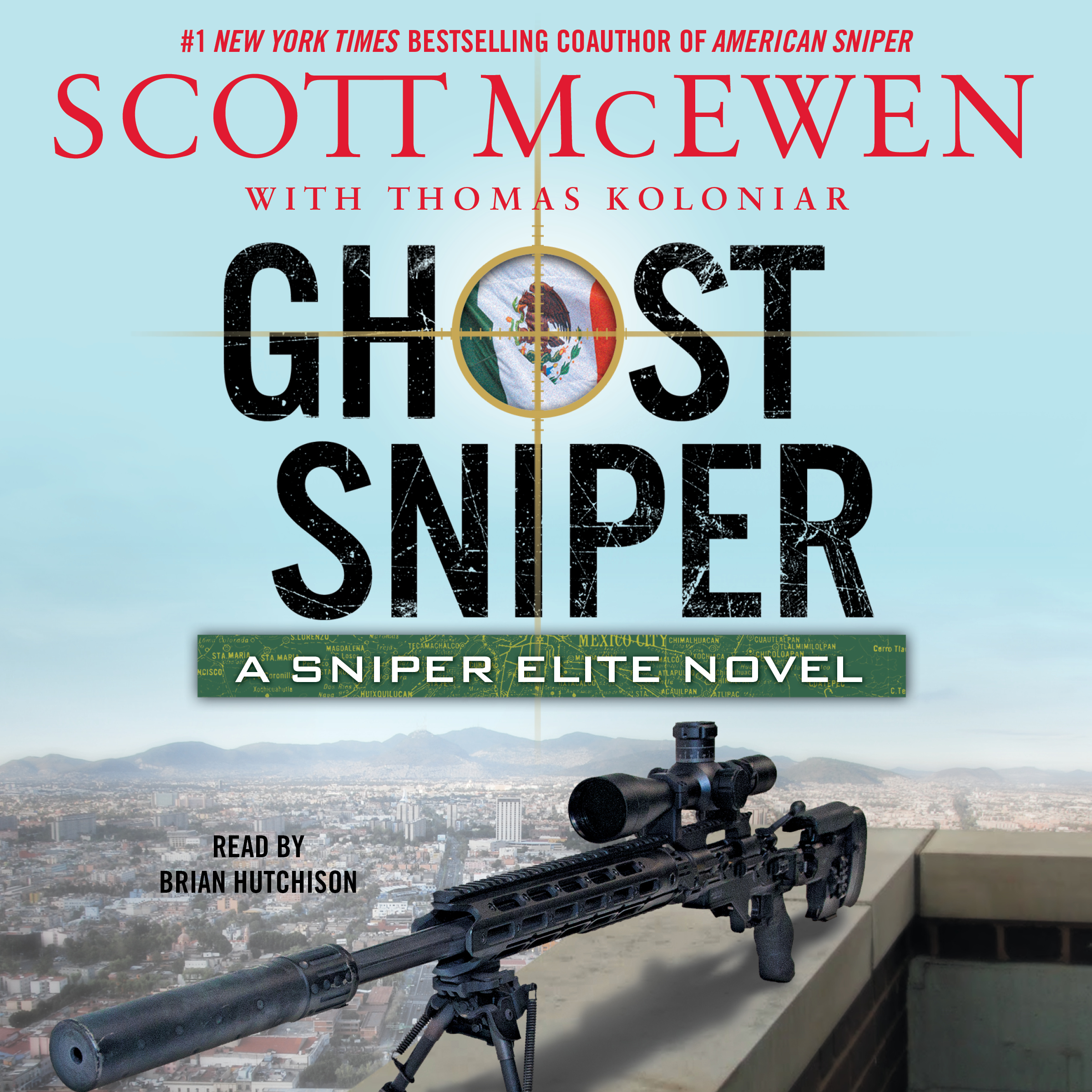 Printable Ghost Sniper: A Sniper Elite Novel Audiobook Cover Art