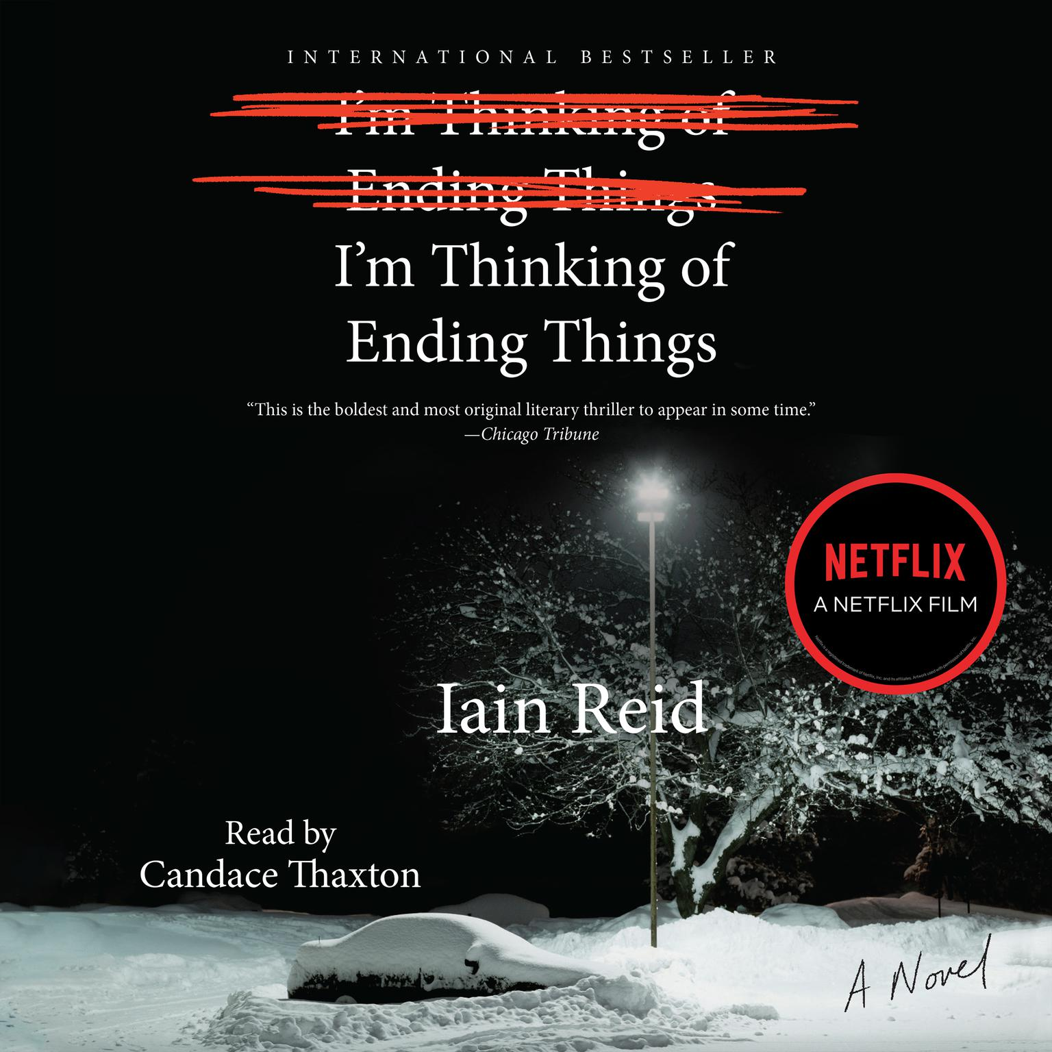 Printable I'm Thinking of Ending Things Audiobook Cover Art