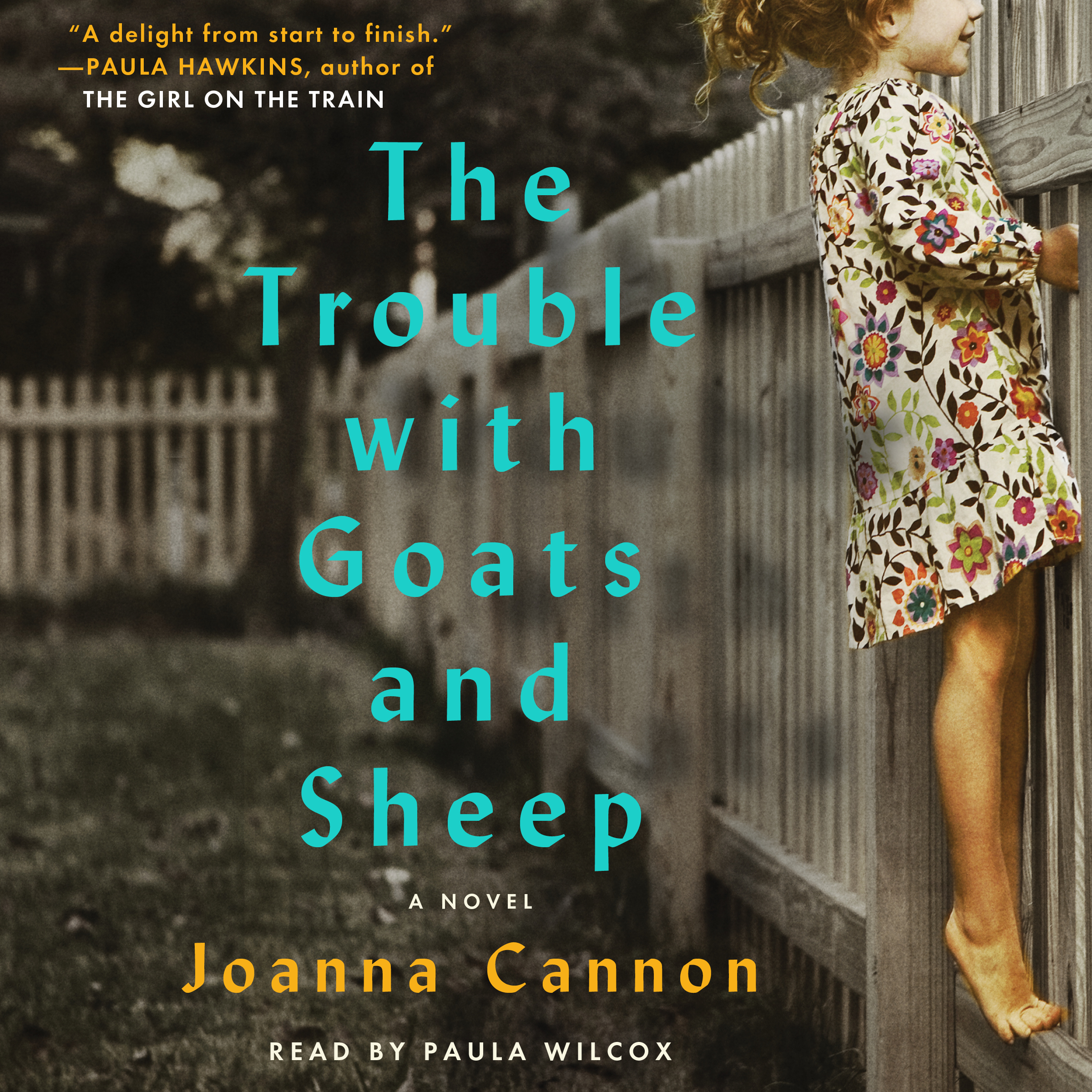 Printable The Trouble with Goats and Sheep: A Novel Audiobook Cover Art